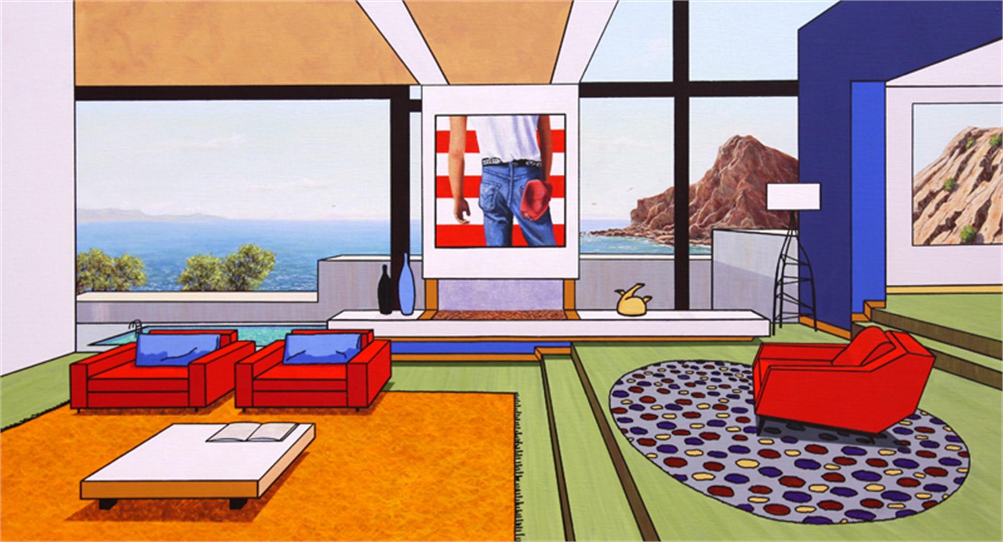 MG395 El Apartamento de Bruce by Mario Garcia Miro
