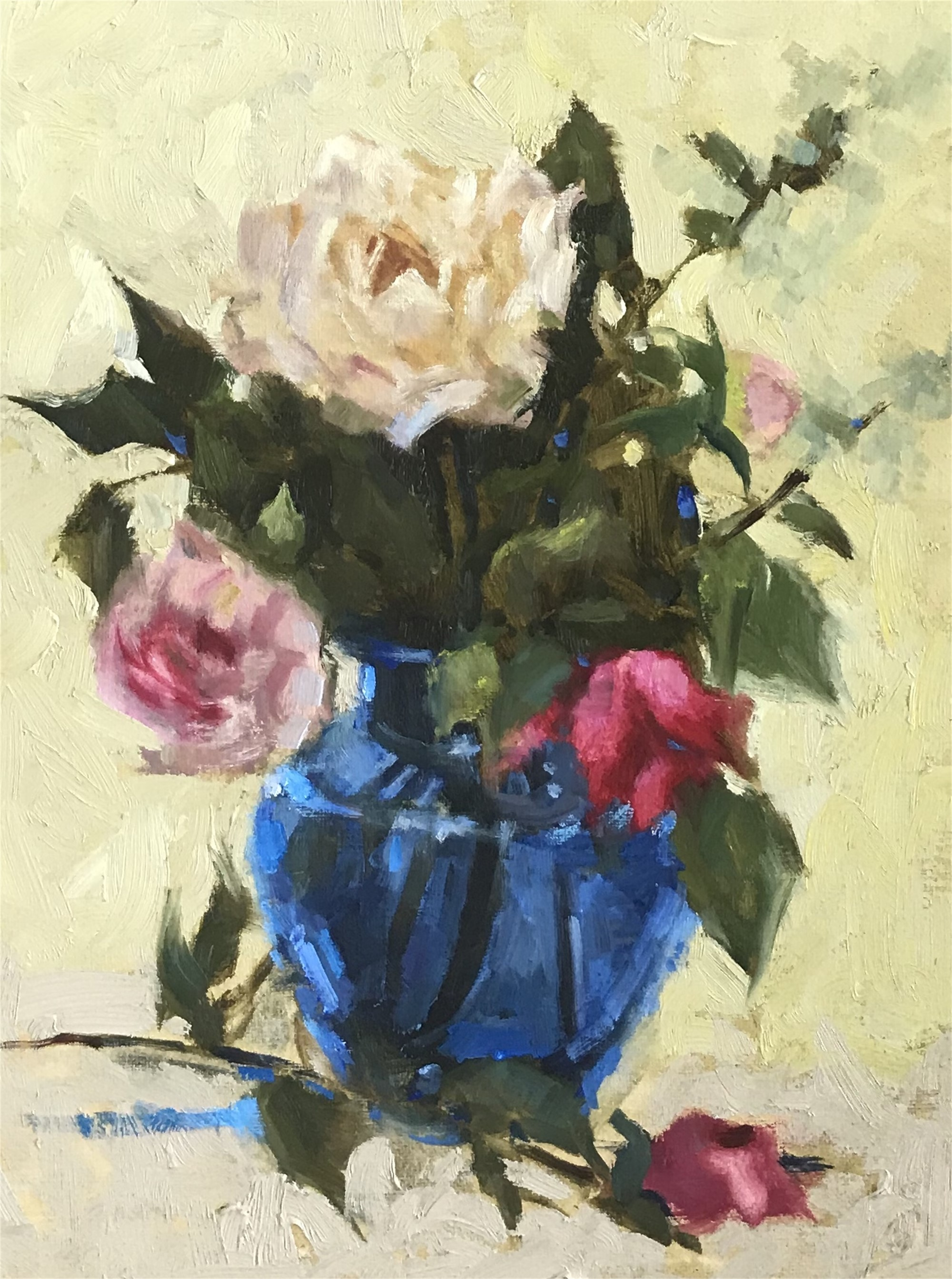 Blue Vase by Laurie Meyer