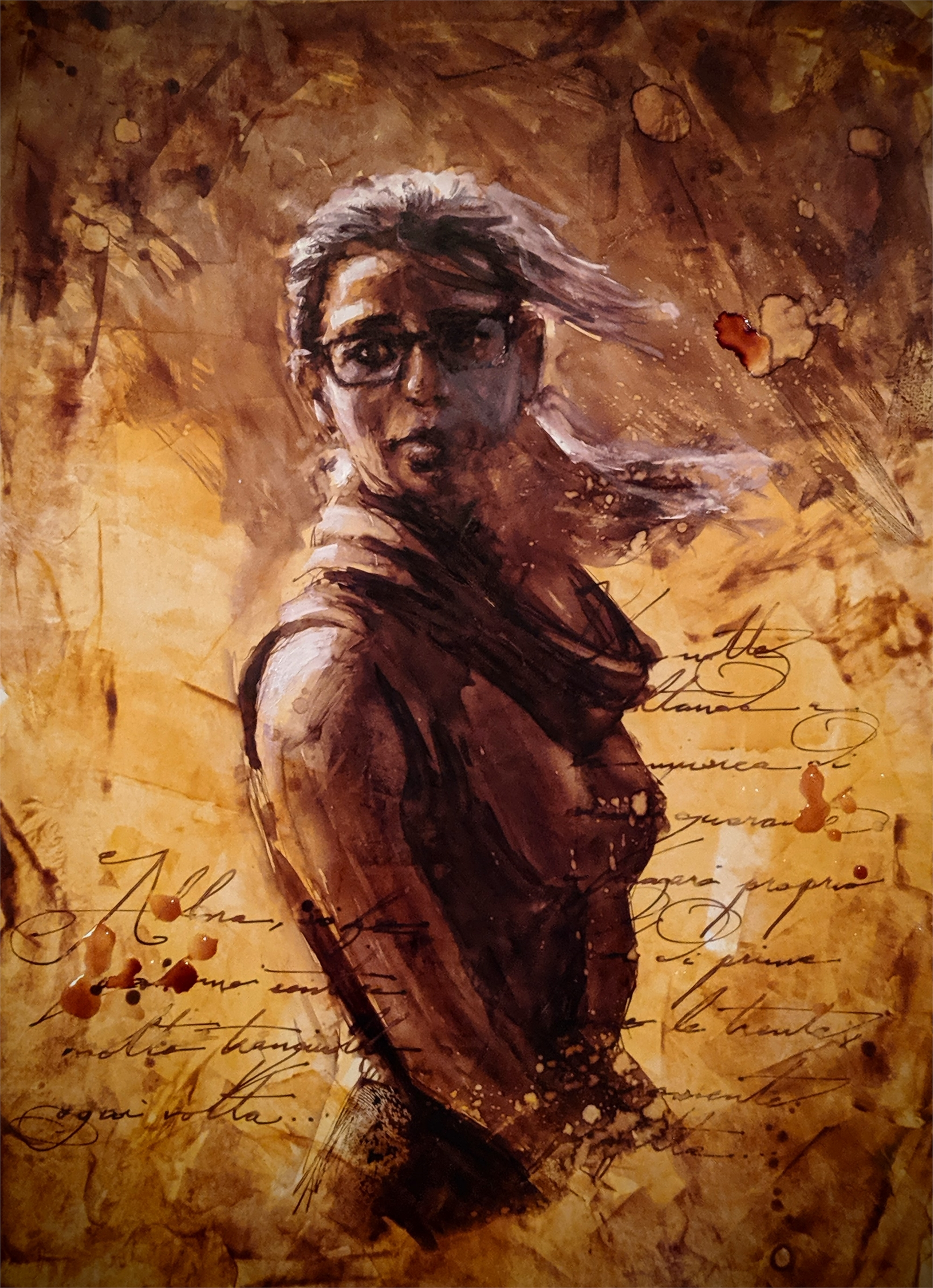 Italian Girl by Christopher Clark