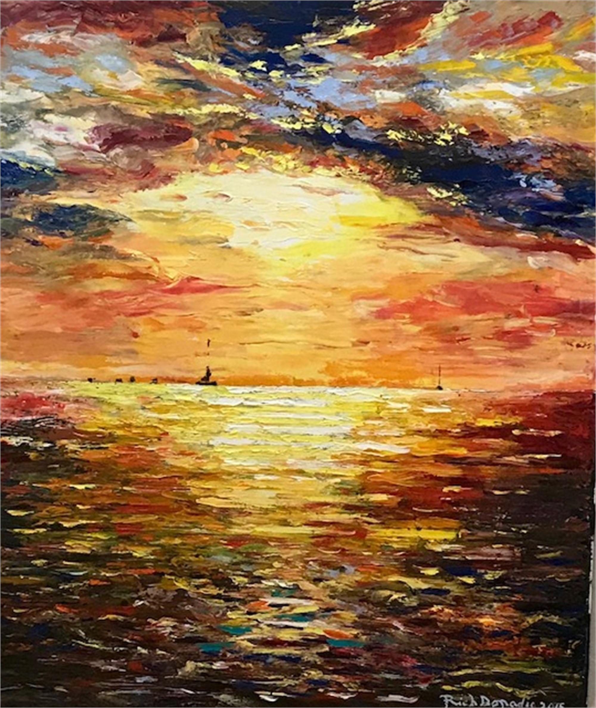 Sunset Over Key West by Richard Donadio