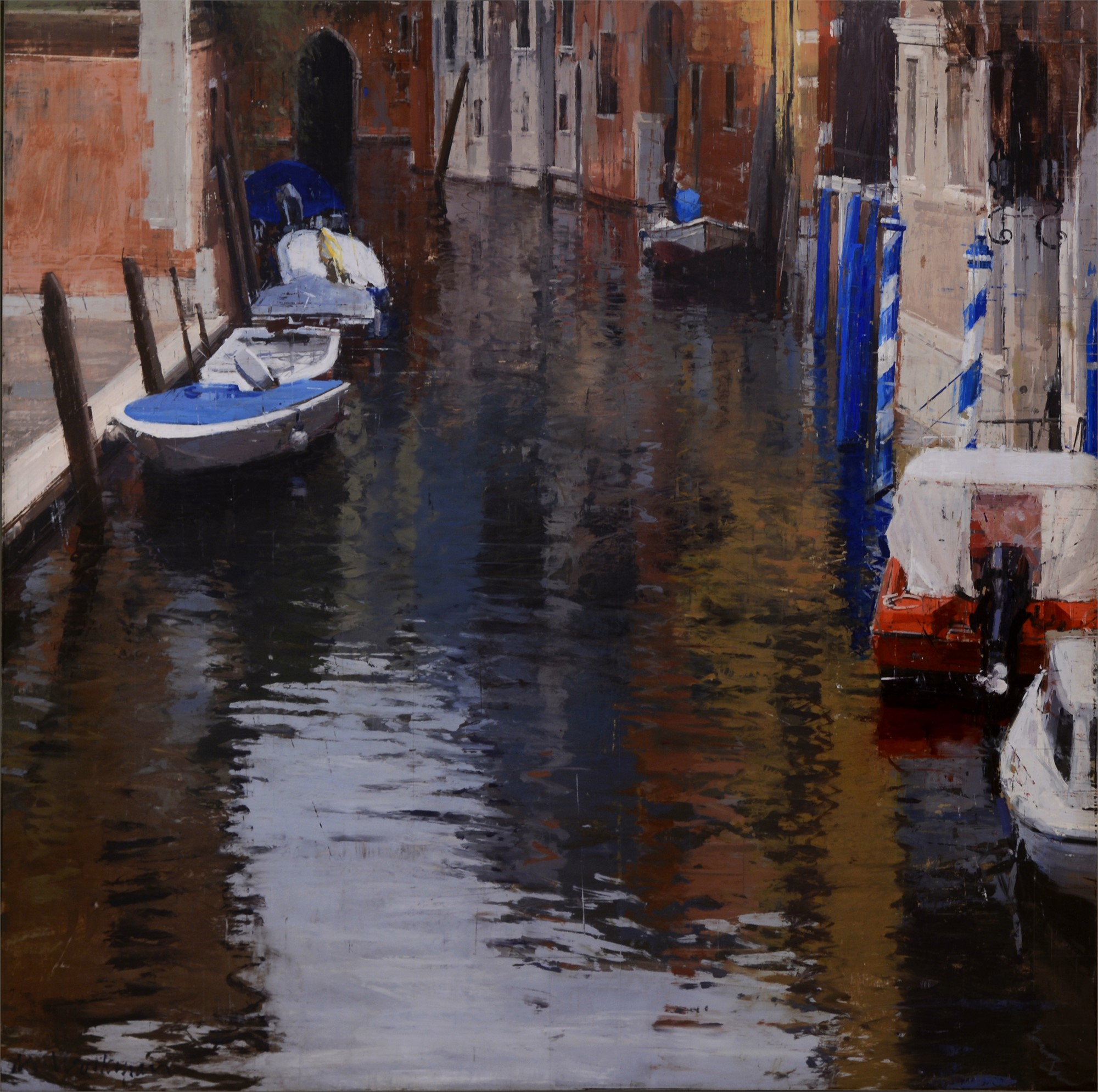 Venice with Rain 2 by Michael Workman
