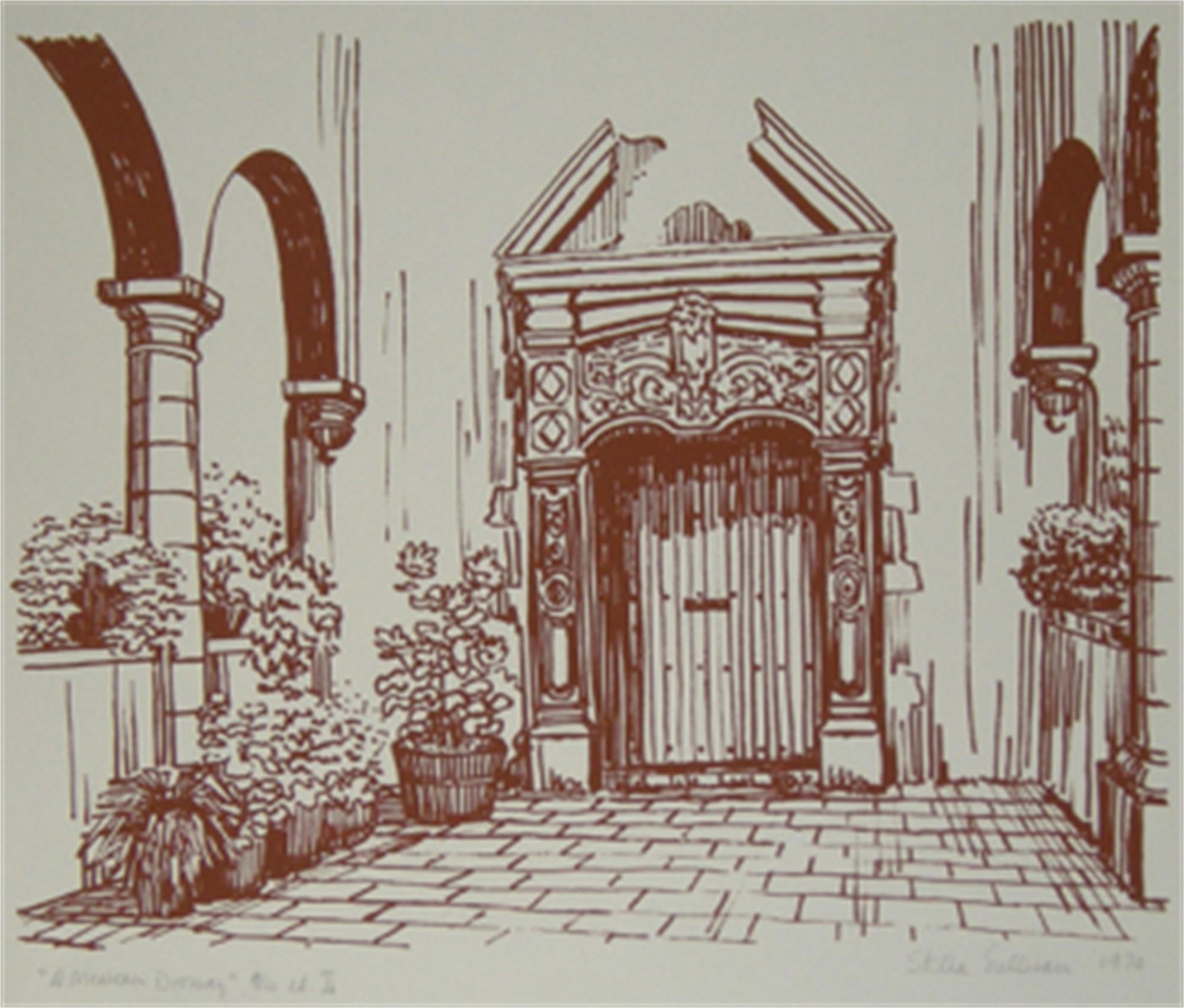 A Mexican Doorway by Stella Sullivan - Prints