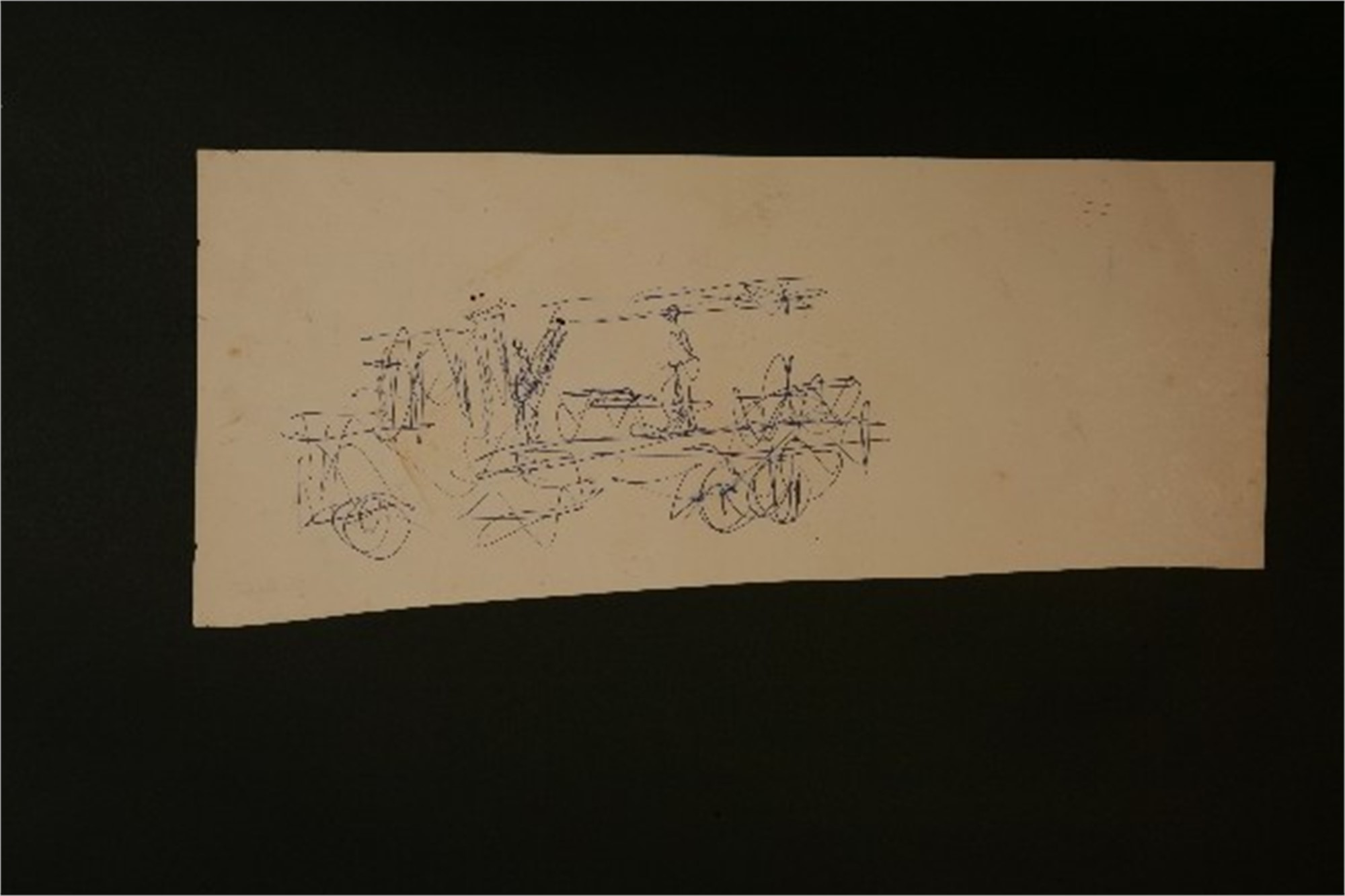 Drawing From the 1970's #28 by Purvis Young