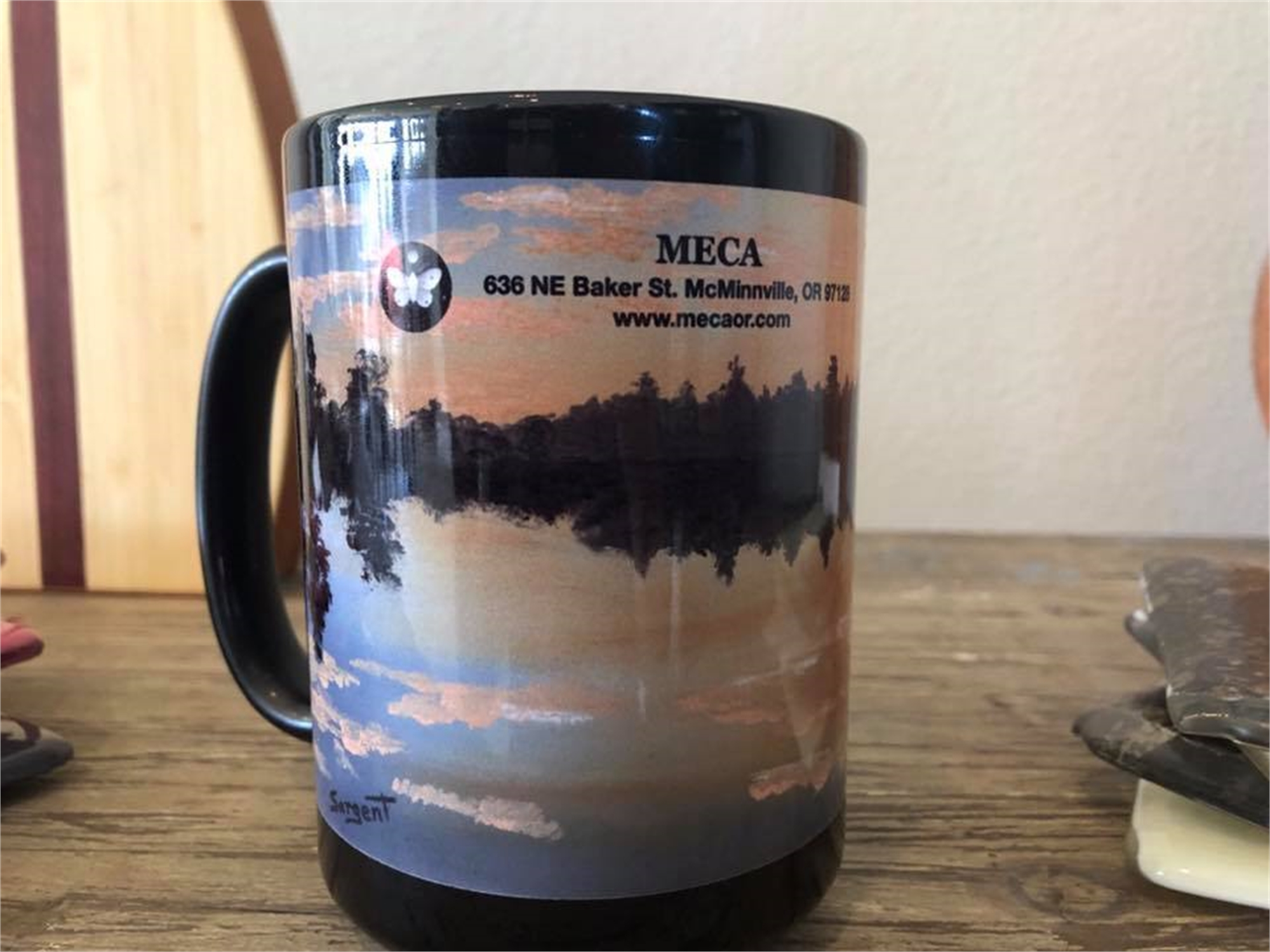 MECA Mug by Phil Sargent (Canby, OR)