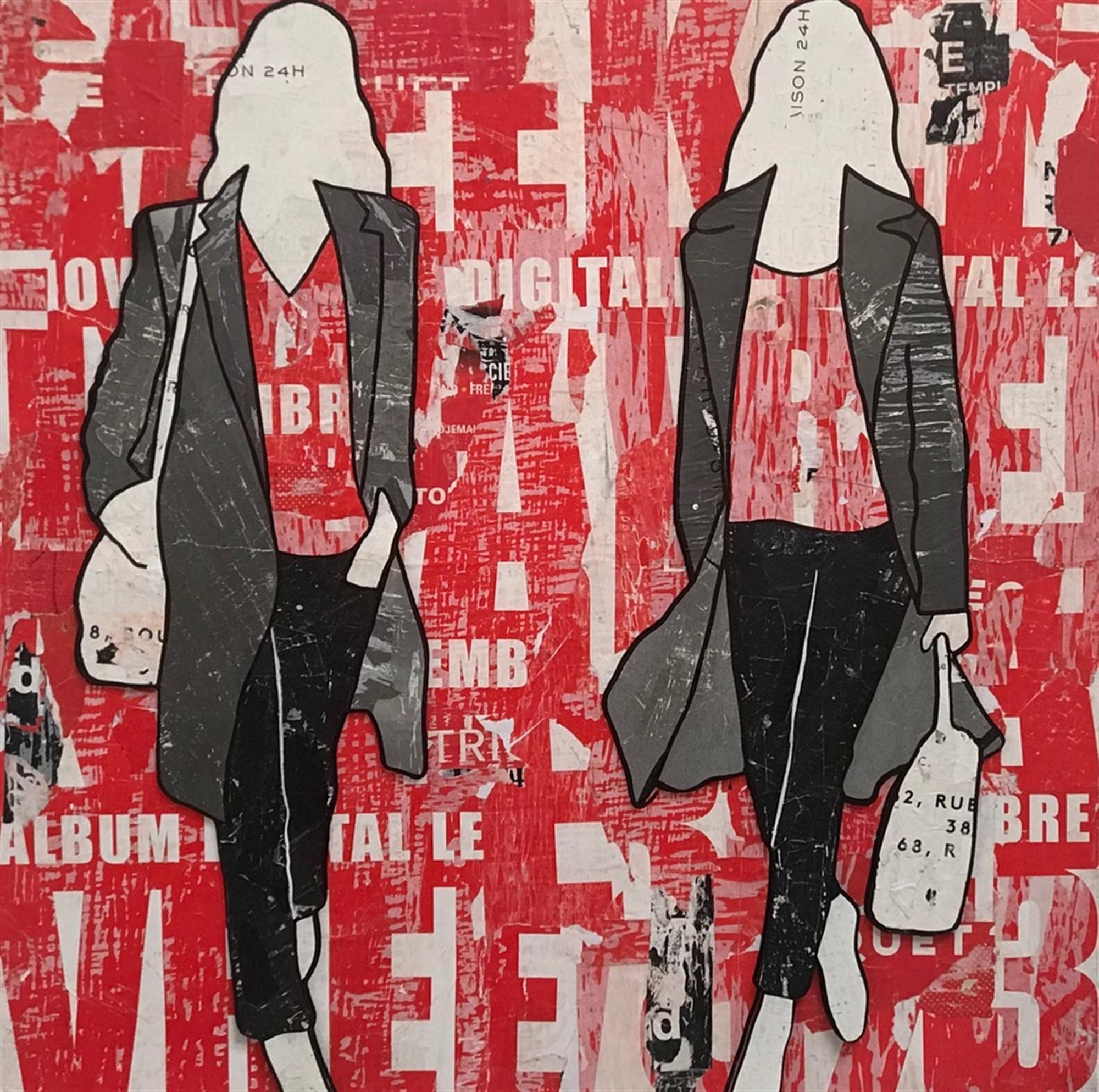 Red Billboard by Jane Maxwell