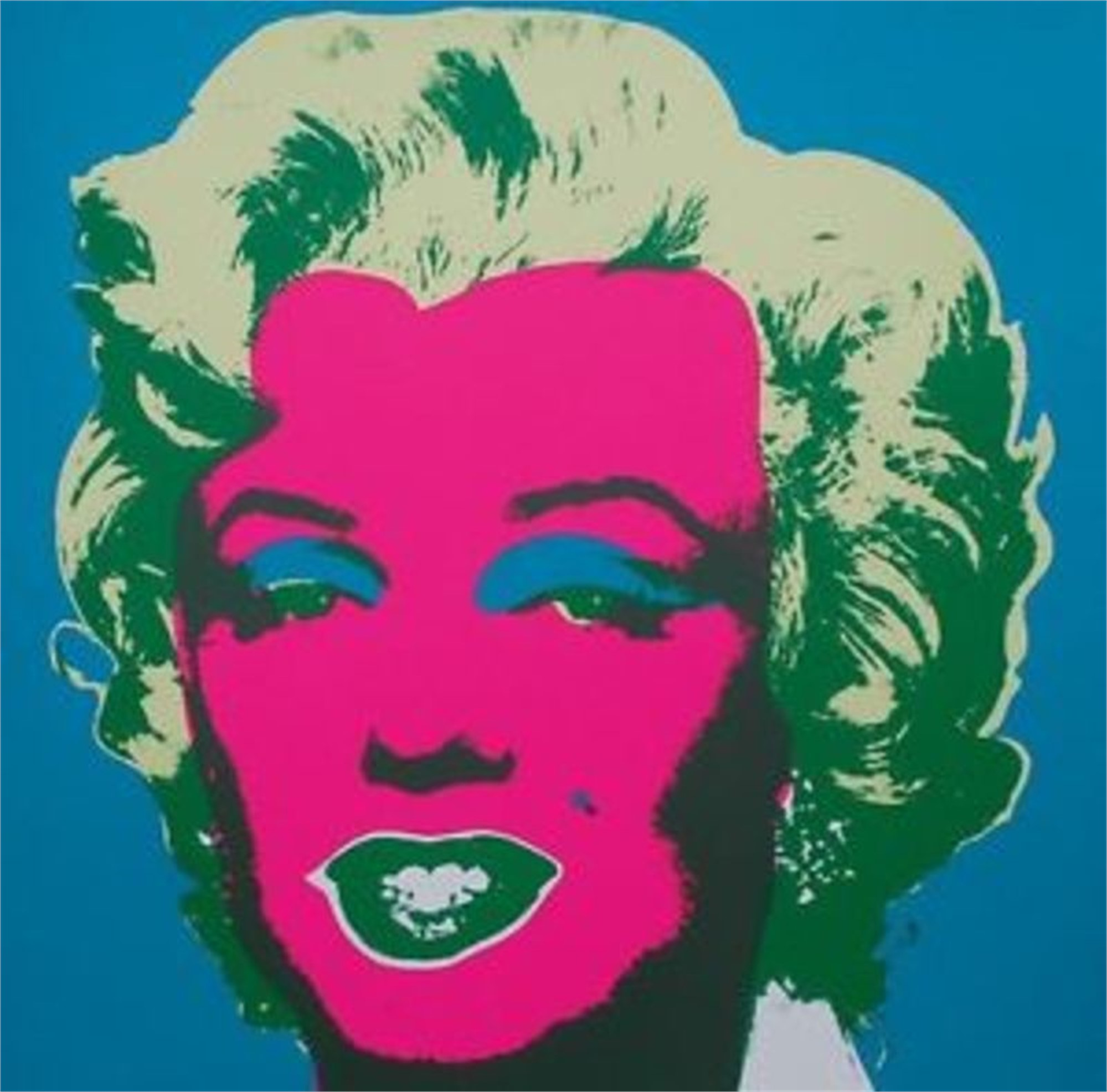 Marilyn 30 From the Sunday B. Morning Edition by Andy Warhol