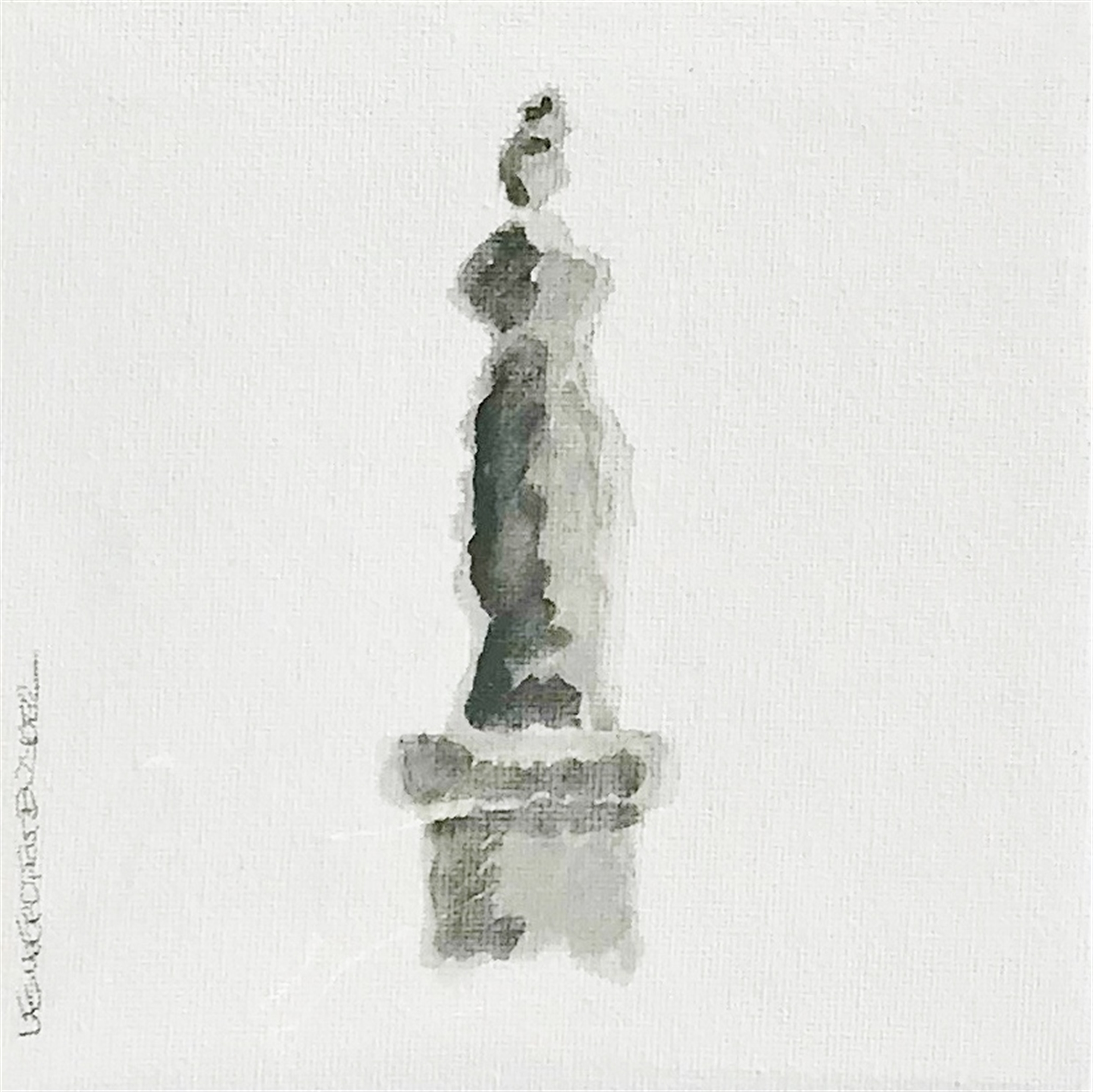 Statuesque I by Leslie Poteet Busker