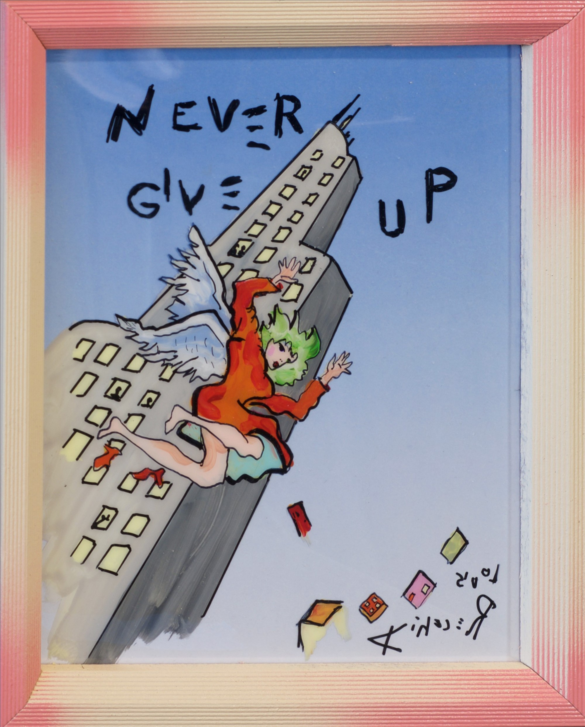 Never Give Up by Louis Recchia