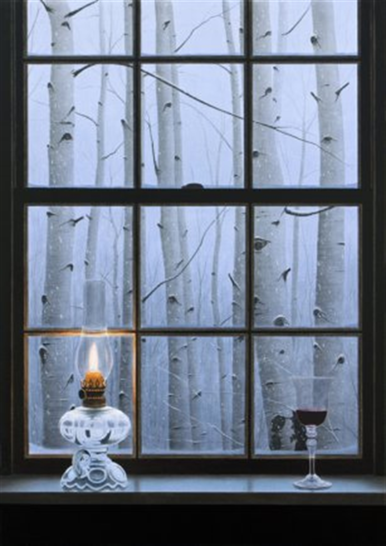 Aspen Window by Alexander Volkov