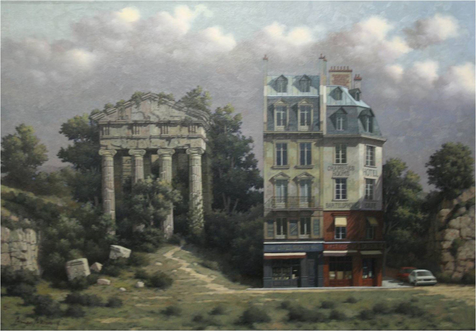 Ionic Temple 10/7 by Arnau Alemany