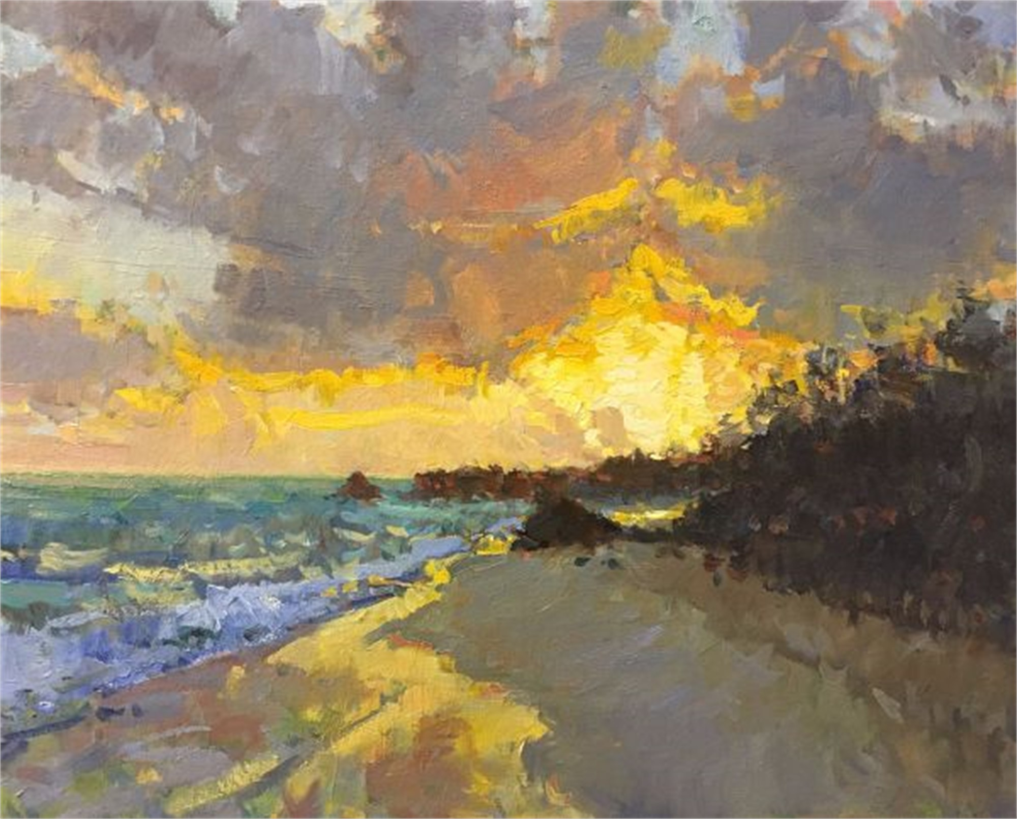 Bermuda Sunrise by Richard Oversmith