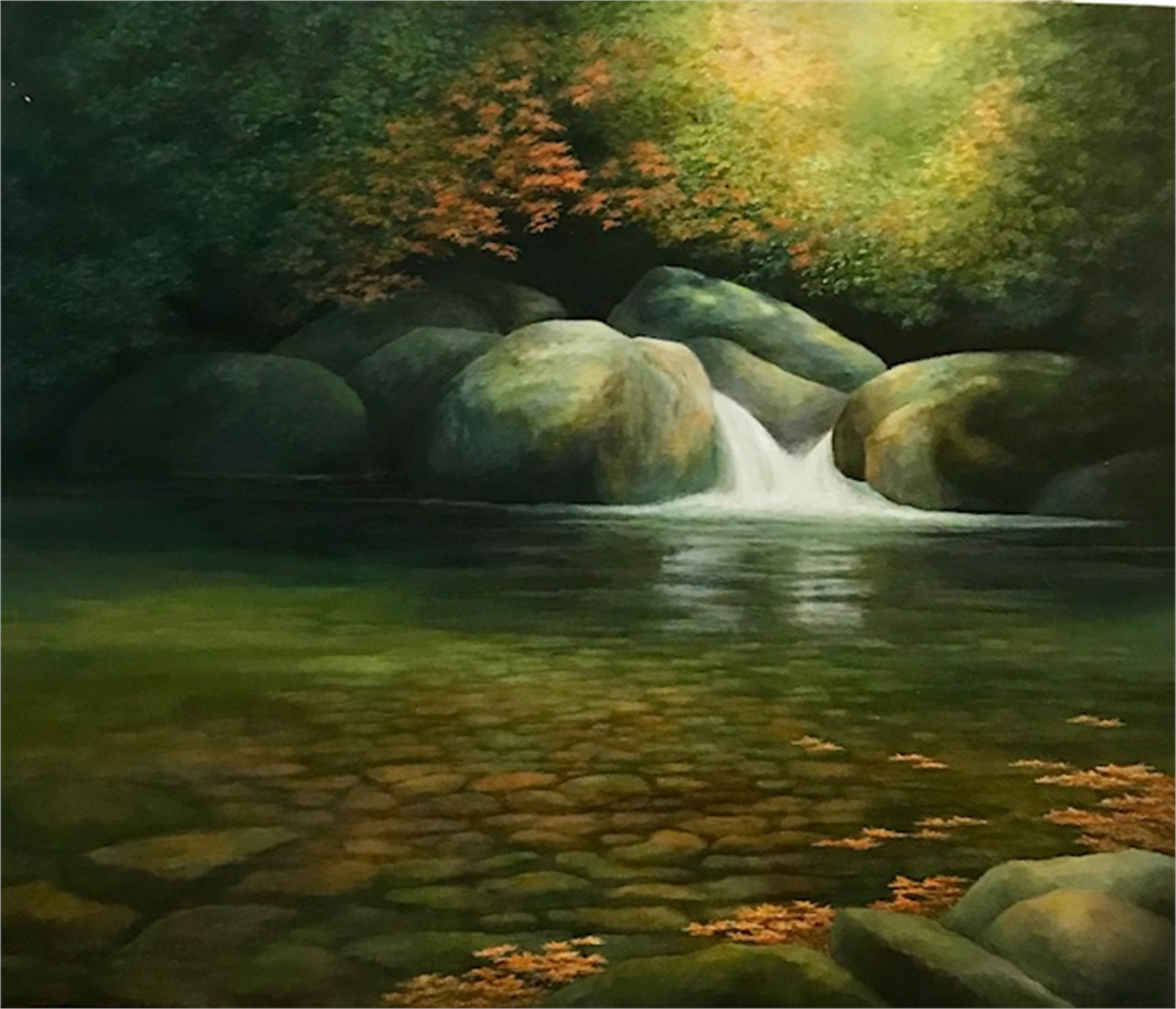 Autumn Tempo by Judith Edgington Bayes