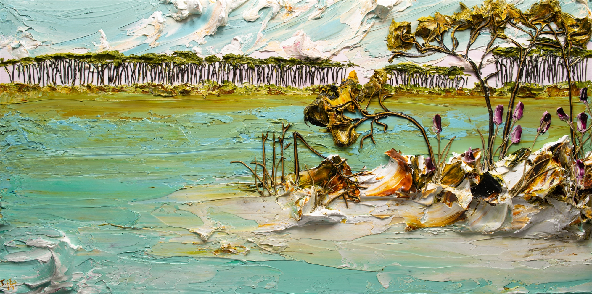 LAKESCAPE-LS-60X30-2019-166 by JUSTIN GAFFREY