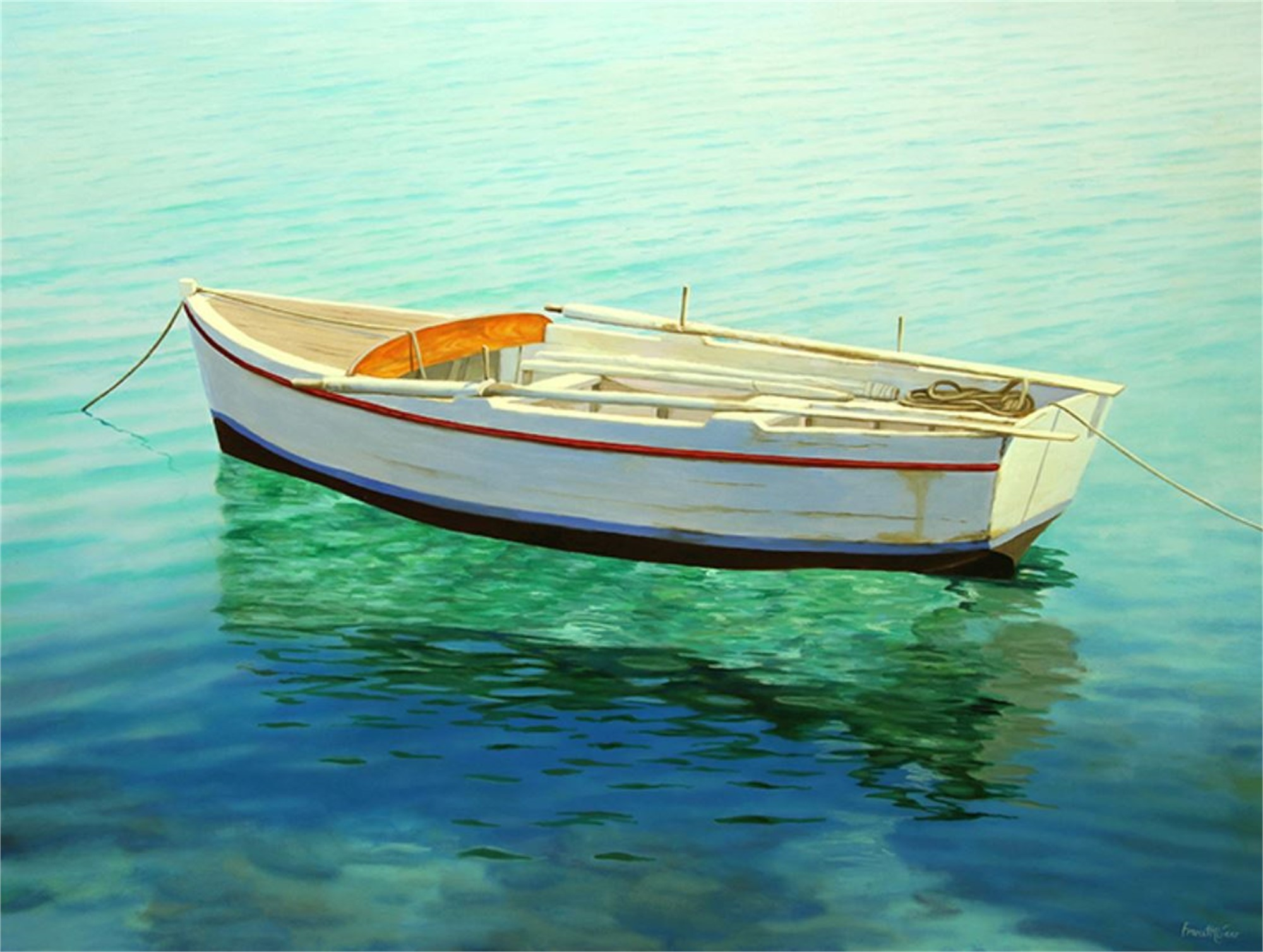 Boats by Frane Mlinar