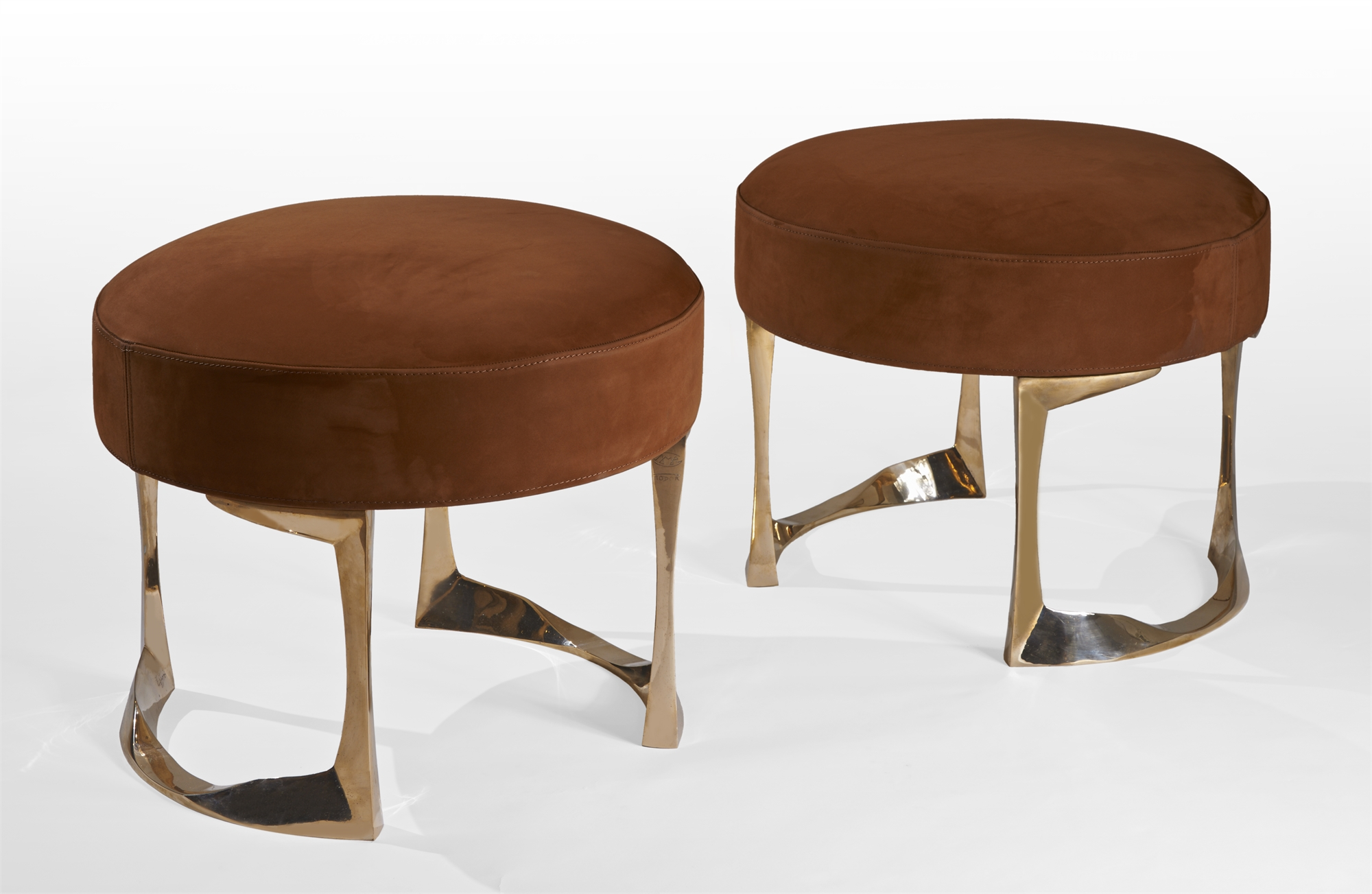 """""""Pouf"""" stool by Anasthasia Millot"""