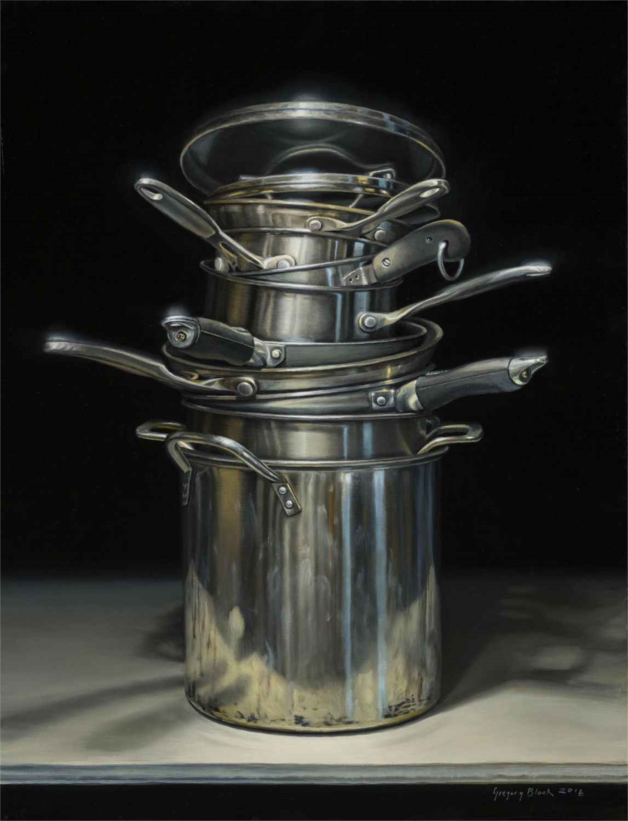 Pots and Pans by Gregory Block