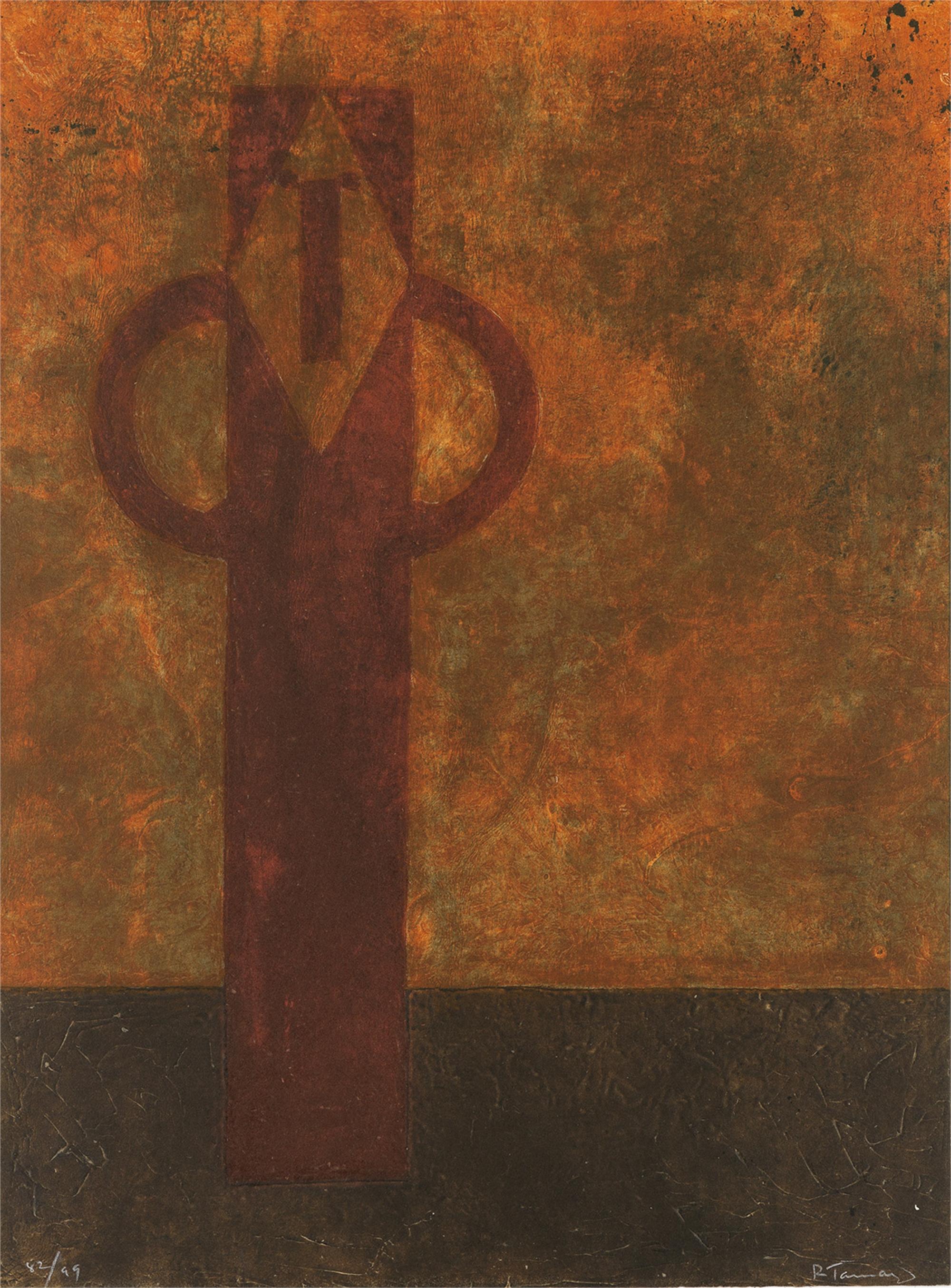 Figura Hierática by Rufino Tamayo (1899 - 1991)