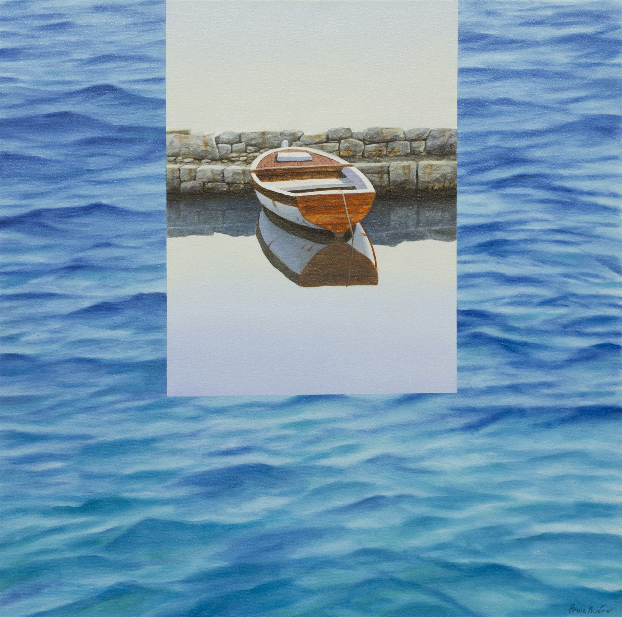 On the Water - YY, 2013, 2018 by Frane Mlinar