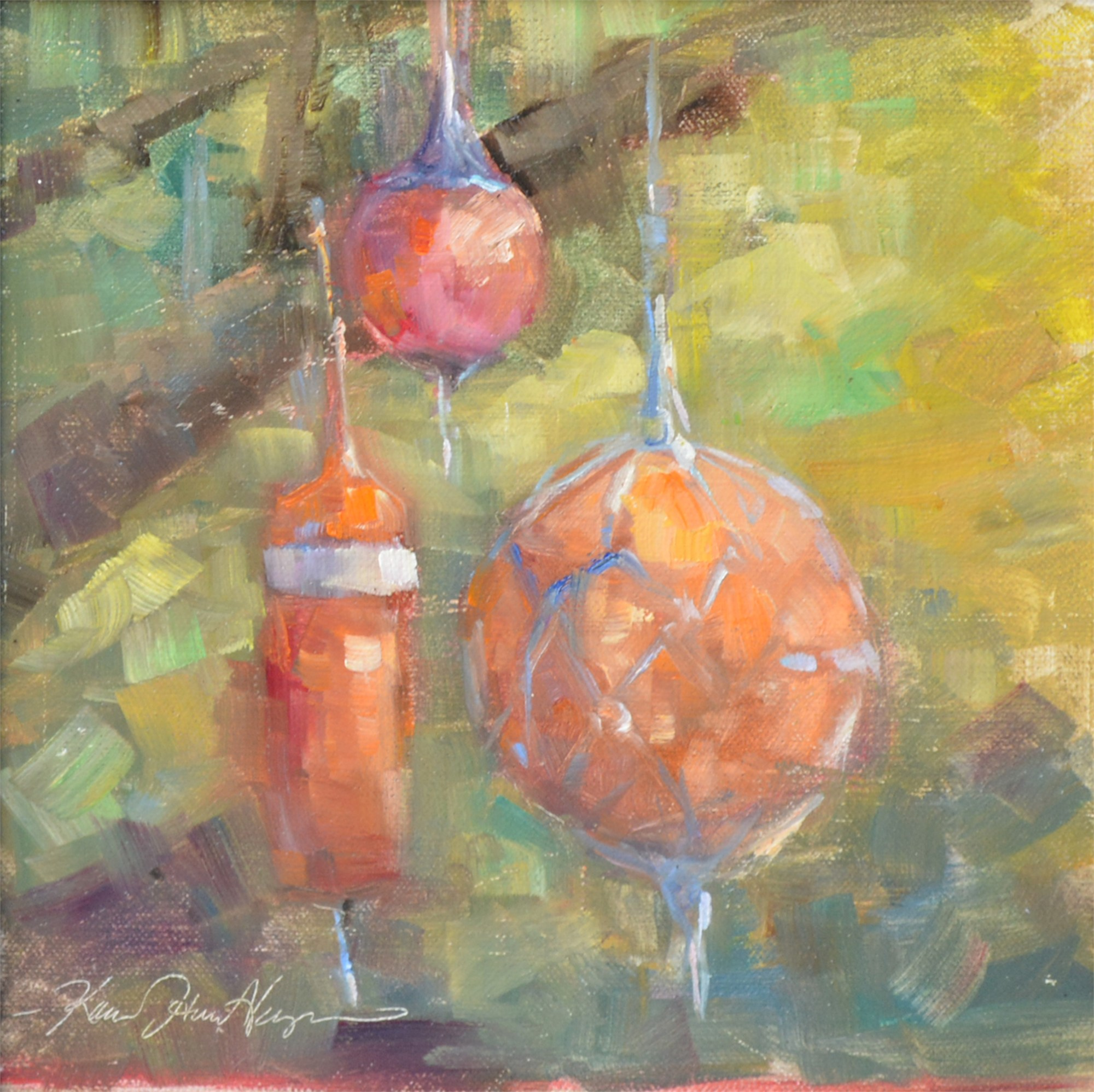 Hope Town Floats at East Point Cottage by Karen Hewitt Hagan