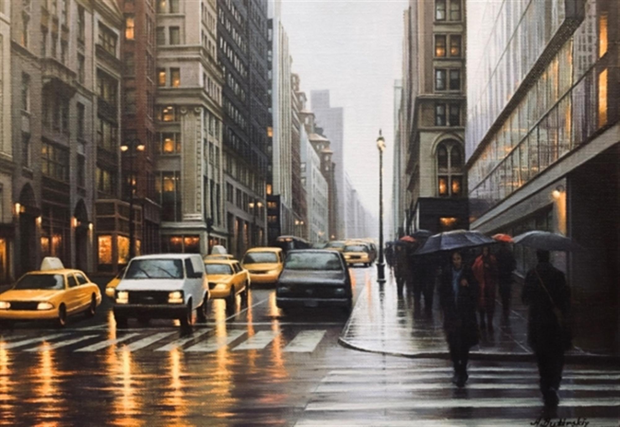 New York Cabbies by Alexei Butirskiy