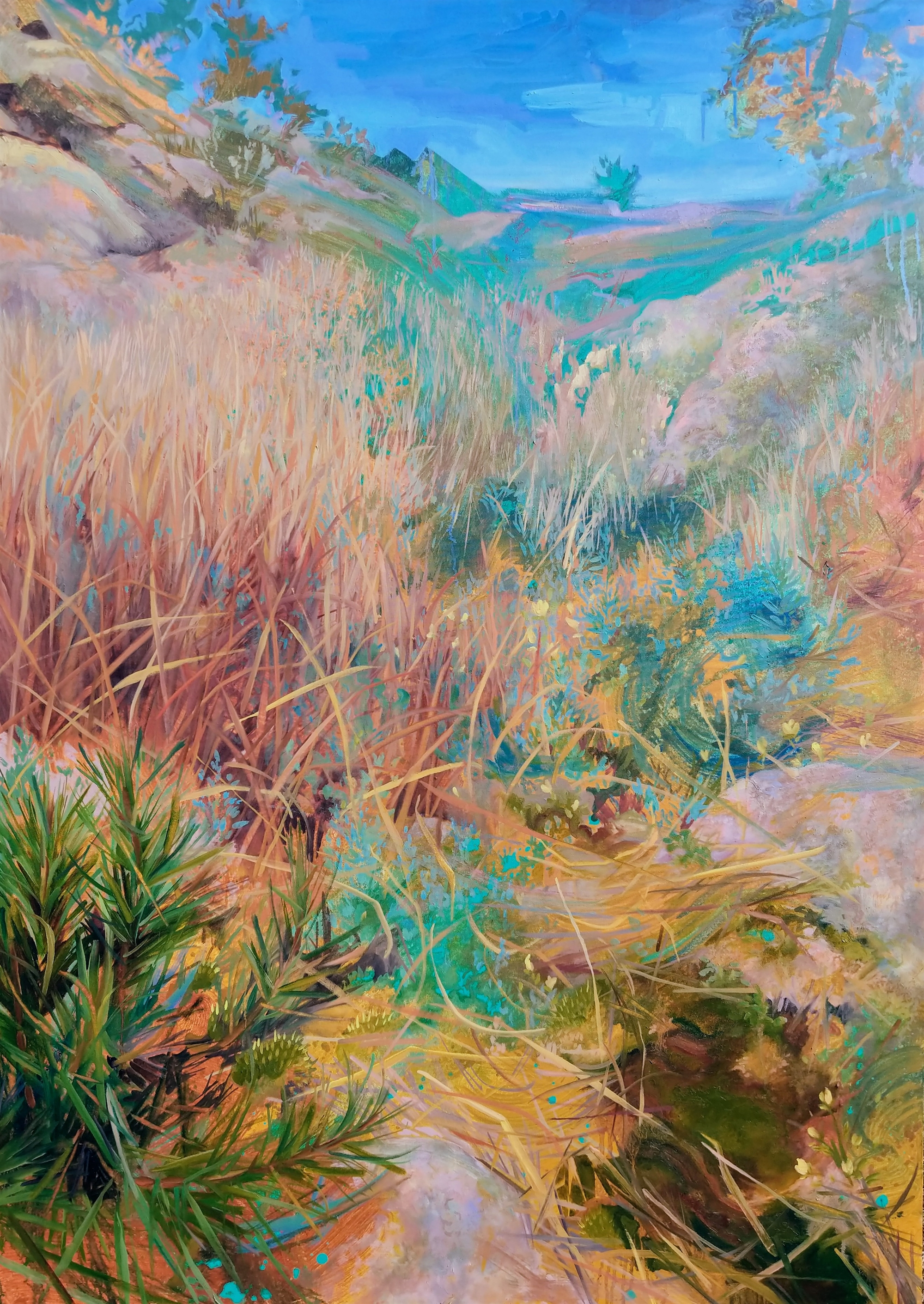 Grasses Rising by Charis Carmichael Braun