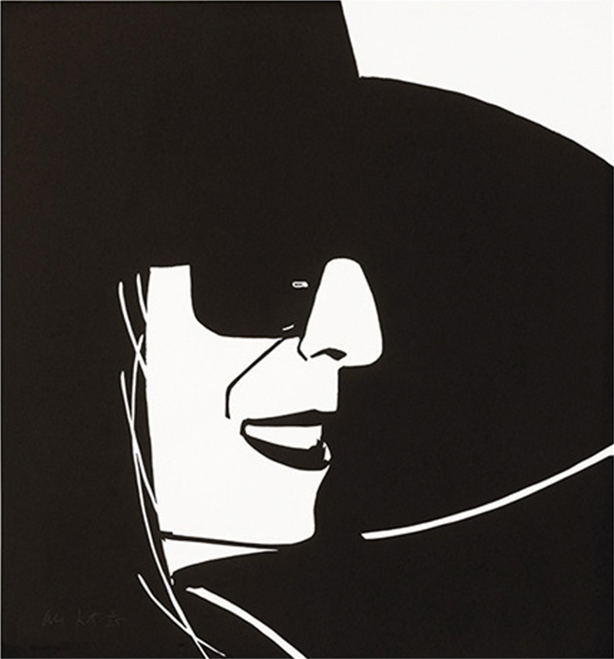 Black Hat (Ada) by Alex Katz
