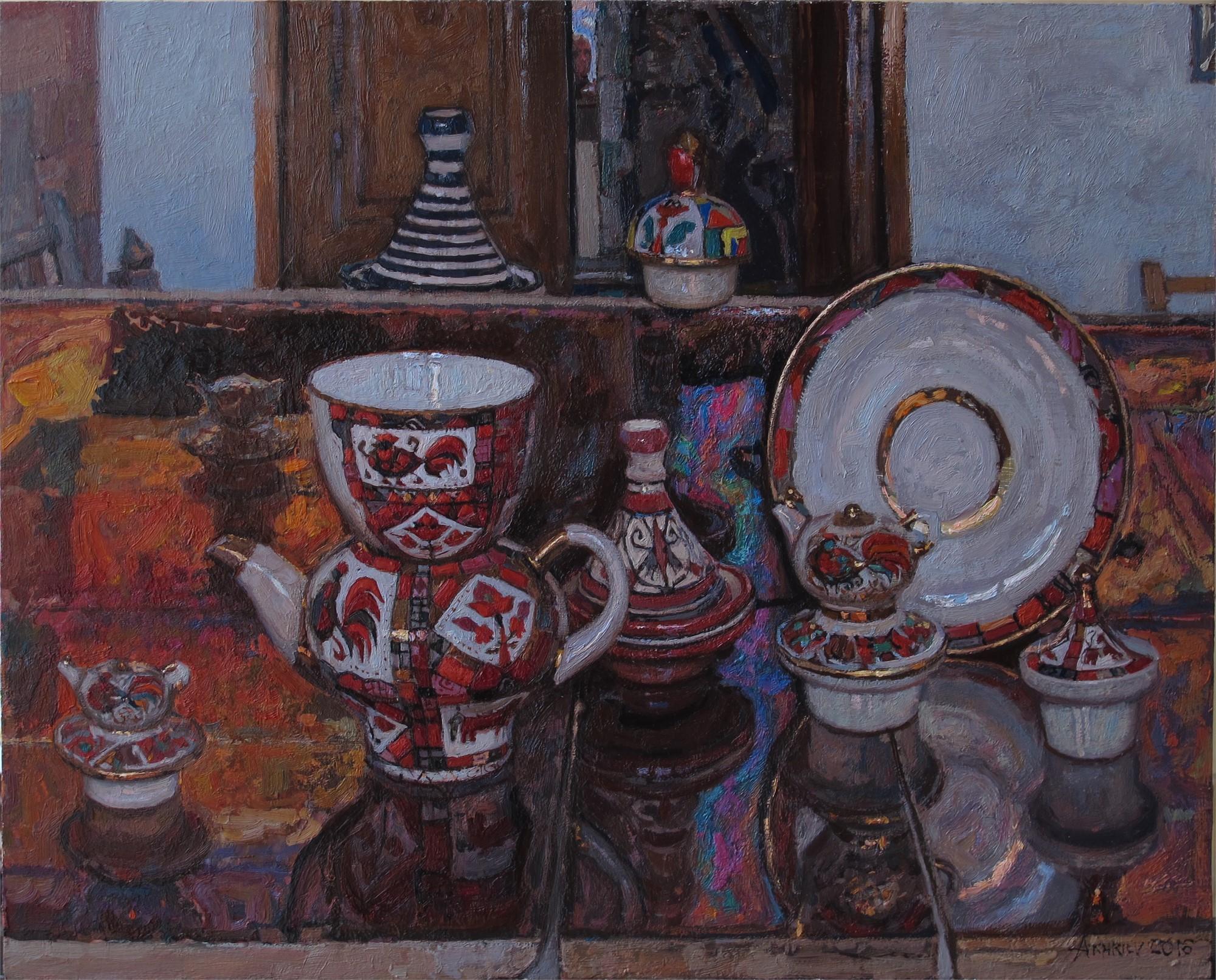 Russian Tea Party IV by Daud Akhriev