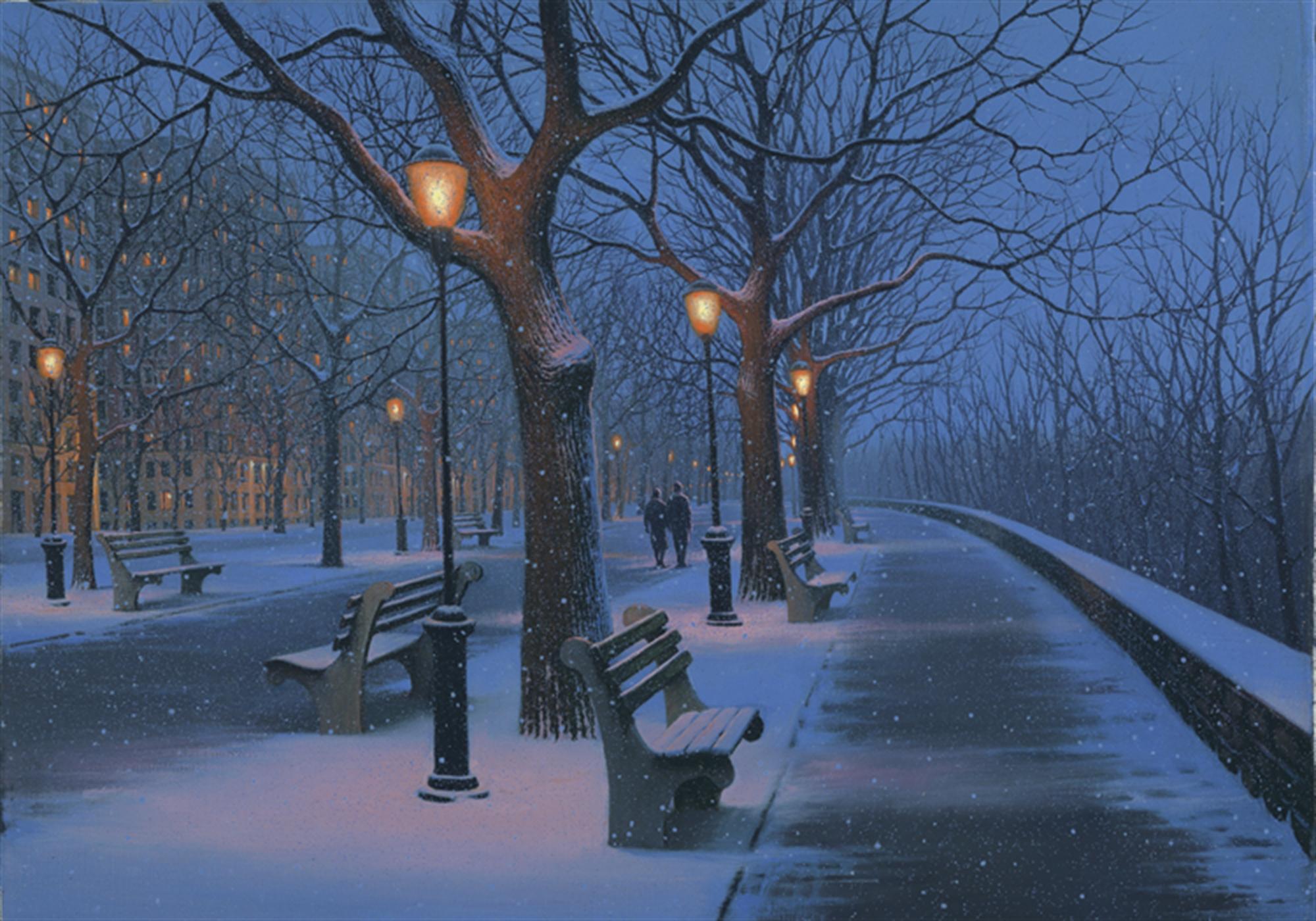 Winter Stroll by Alexei Butirskiy