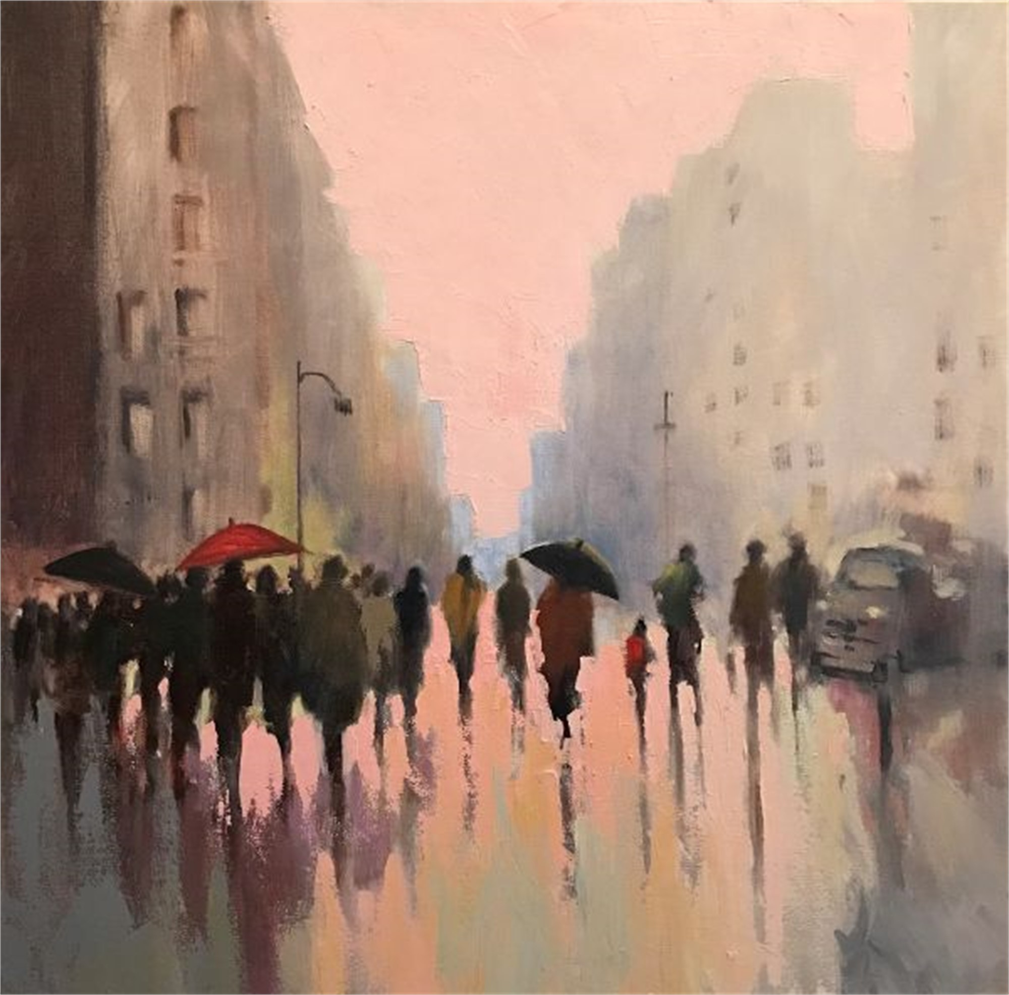 Rain in the City by Betsy Havens