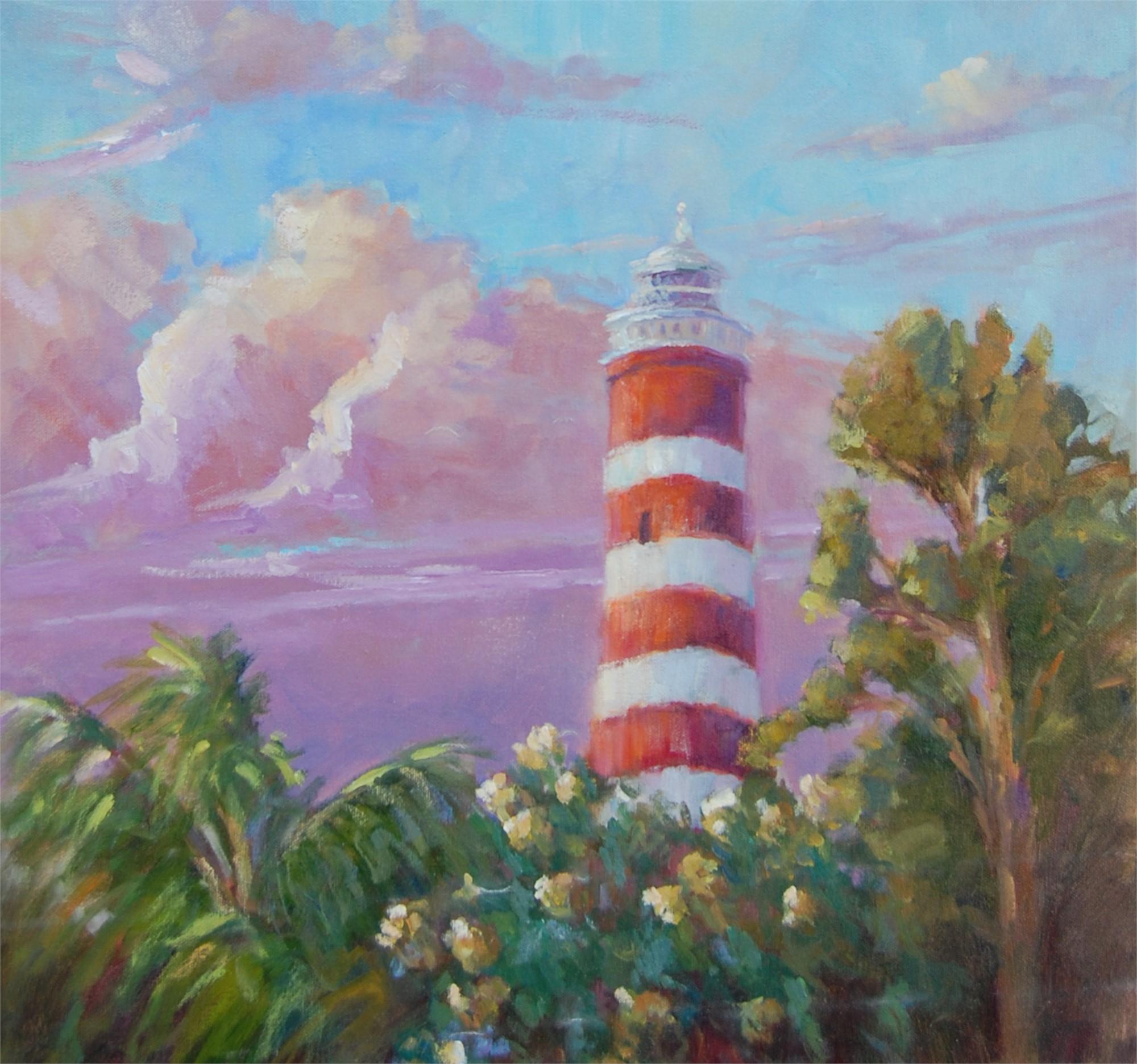 Hope Town Lighthouse by Karen Hewitt Hagan