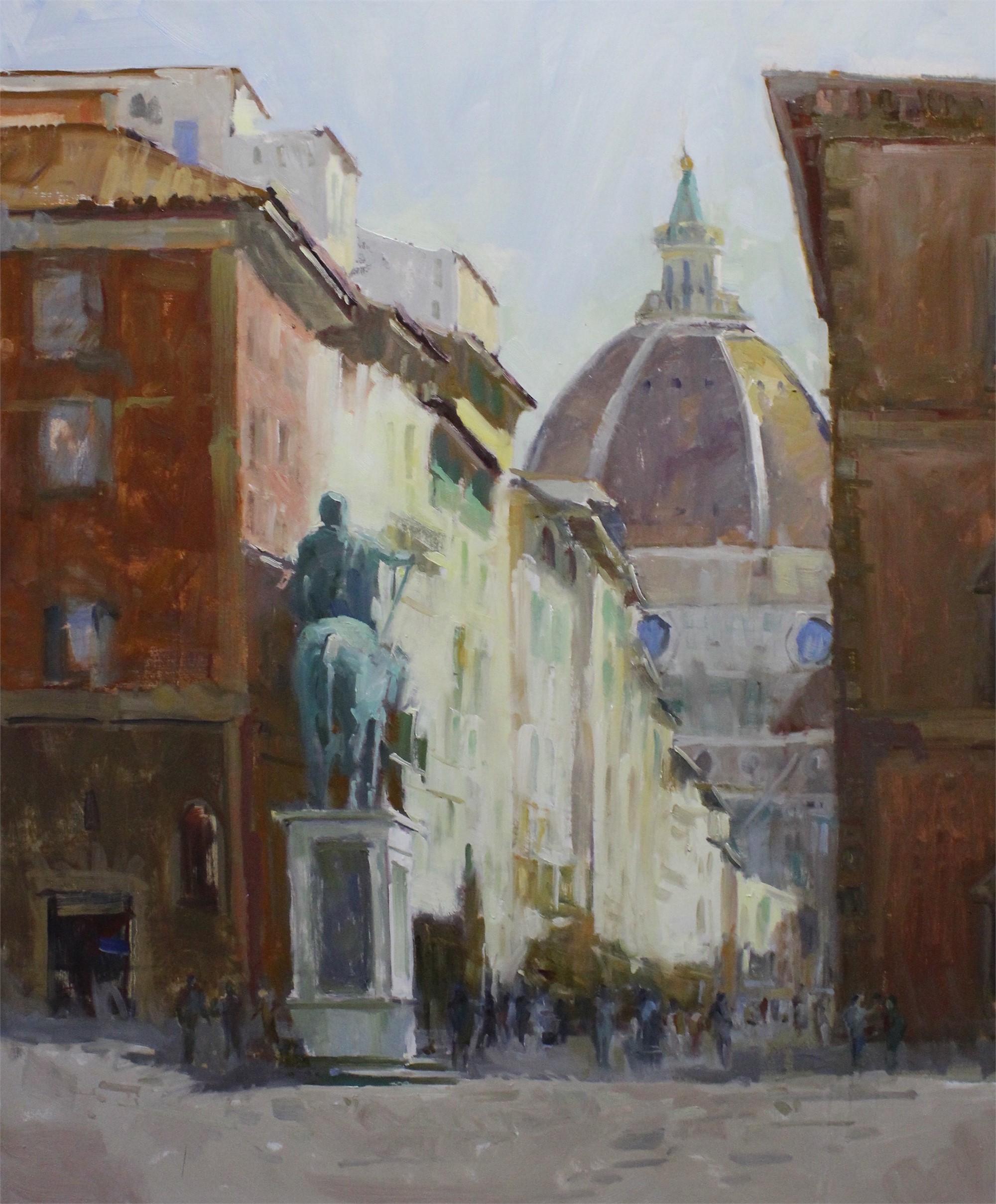 Florence Side Street by Brent Jensen