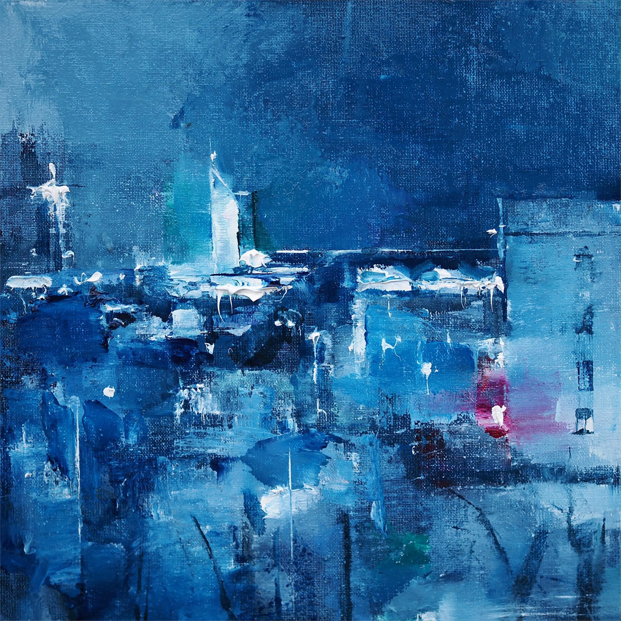 Blue Nights by Heiko Mattausch