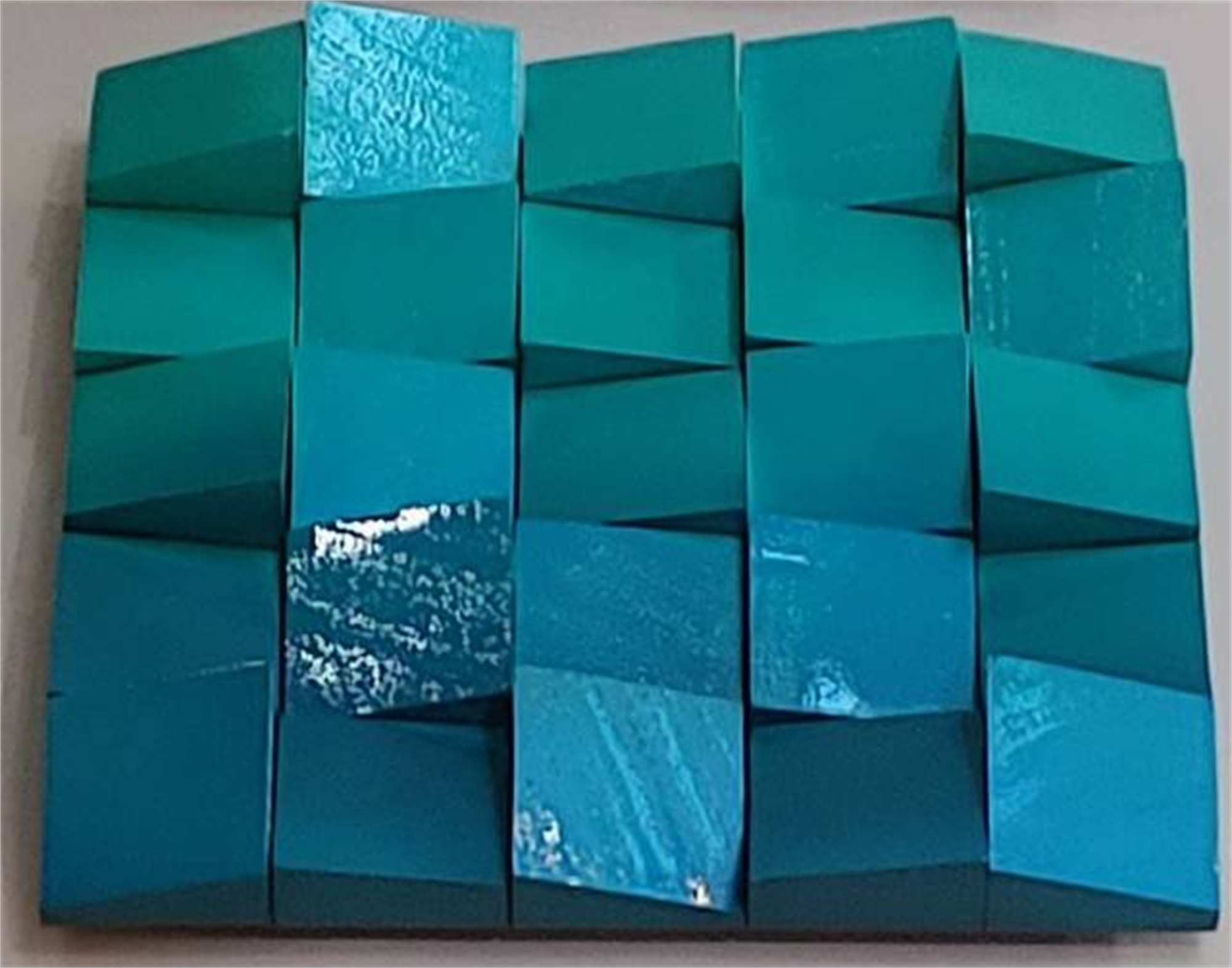 Neon Waves Teal/Ombre by Efi Mashiah