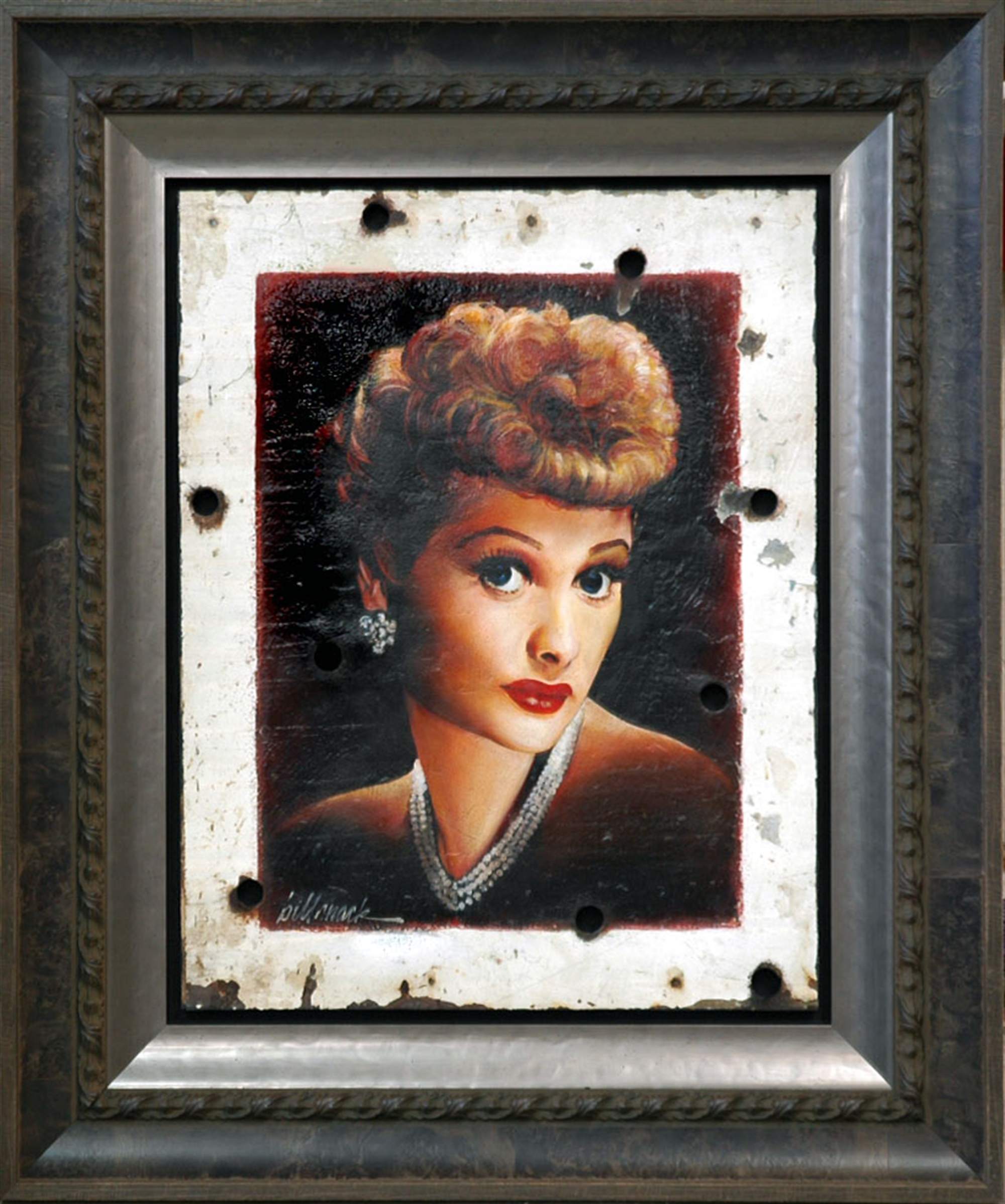 Lucille Ball - Crazy Redhead by Bill Mack