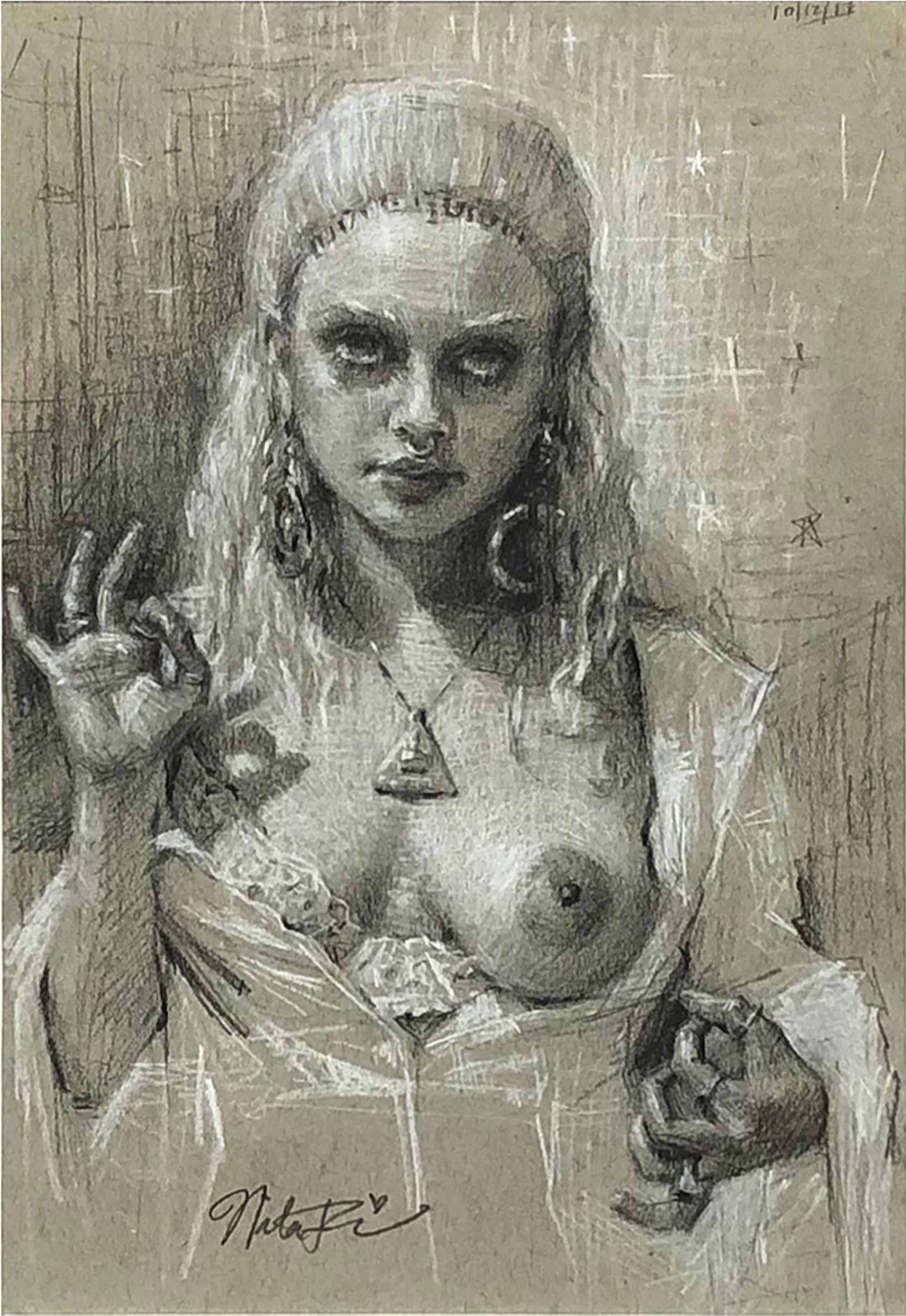 Priestess by Natalia Fabia