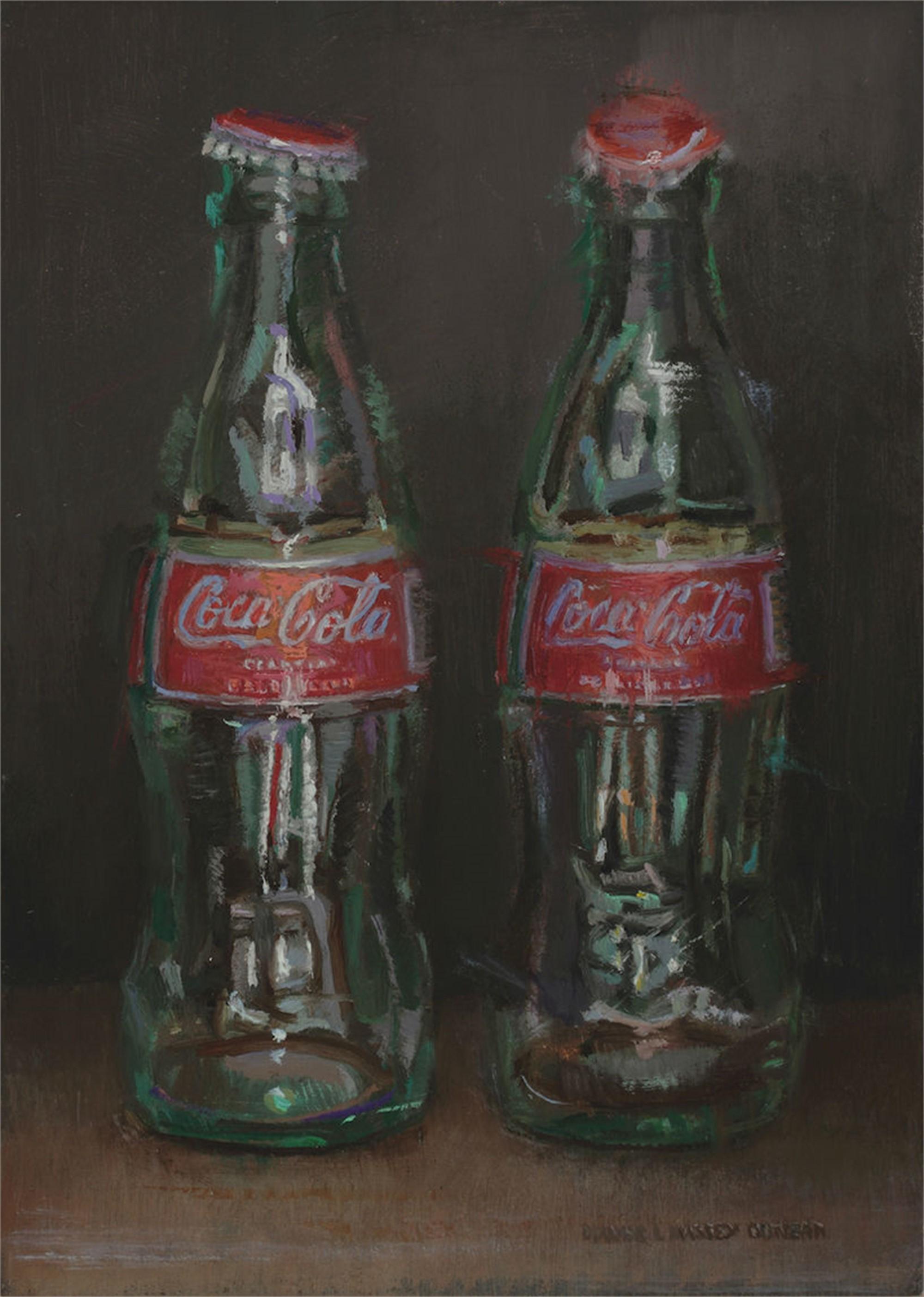 Two Bottles by Dianne L Massey Dunbar