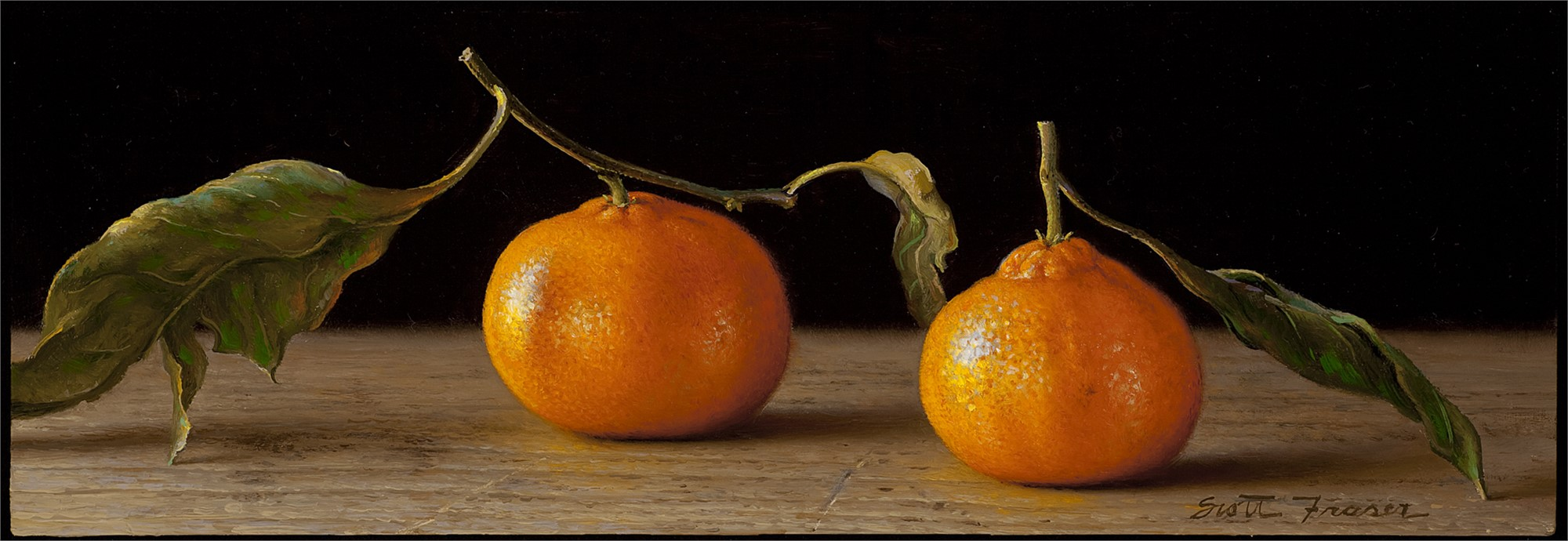 Two Satsumas by Scott Fraser
