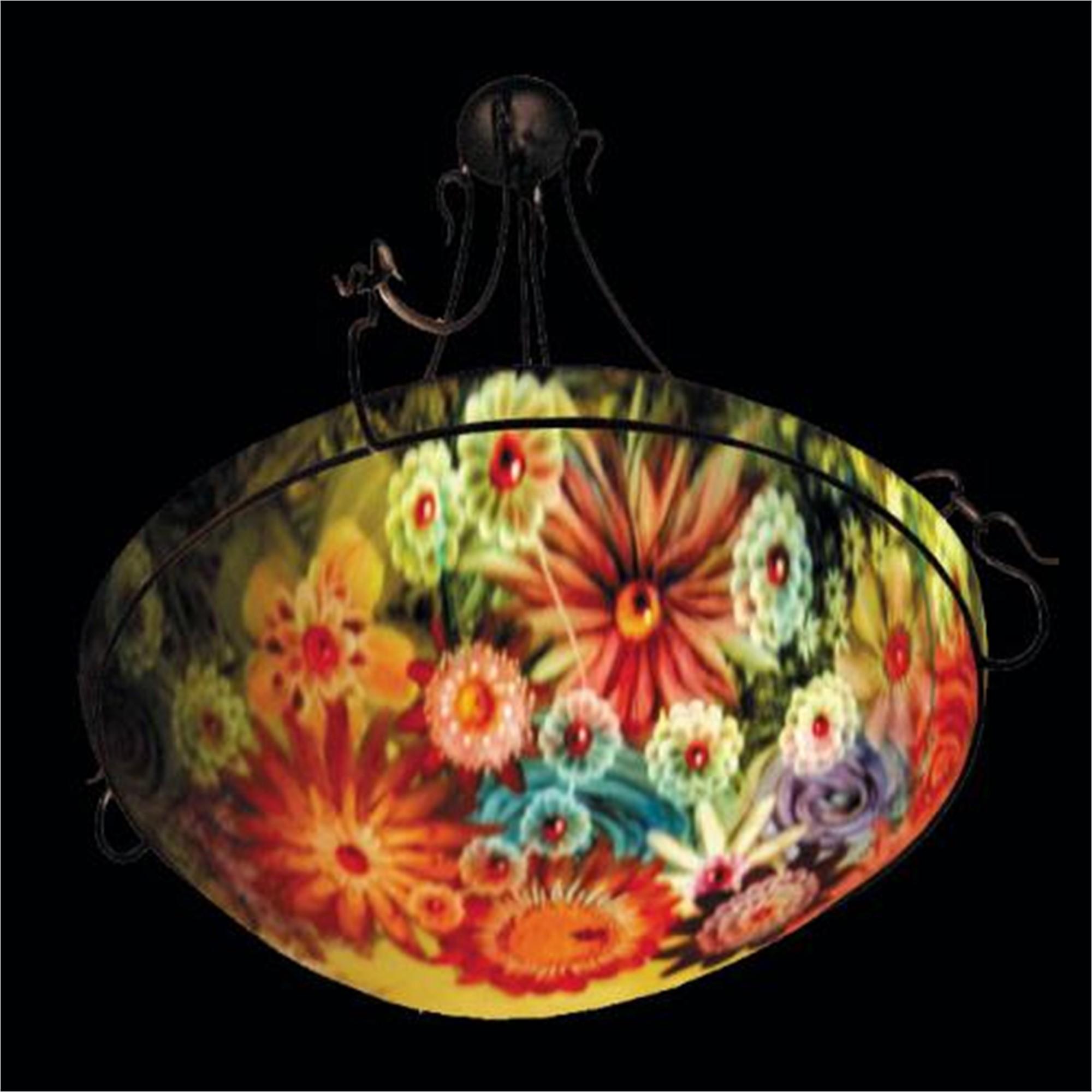 "Display Rose Garden 18"" Ring - S by Jamie Barthel"