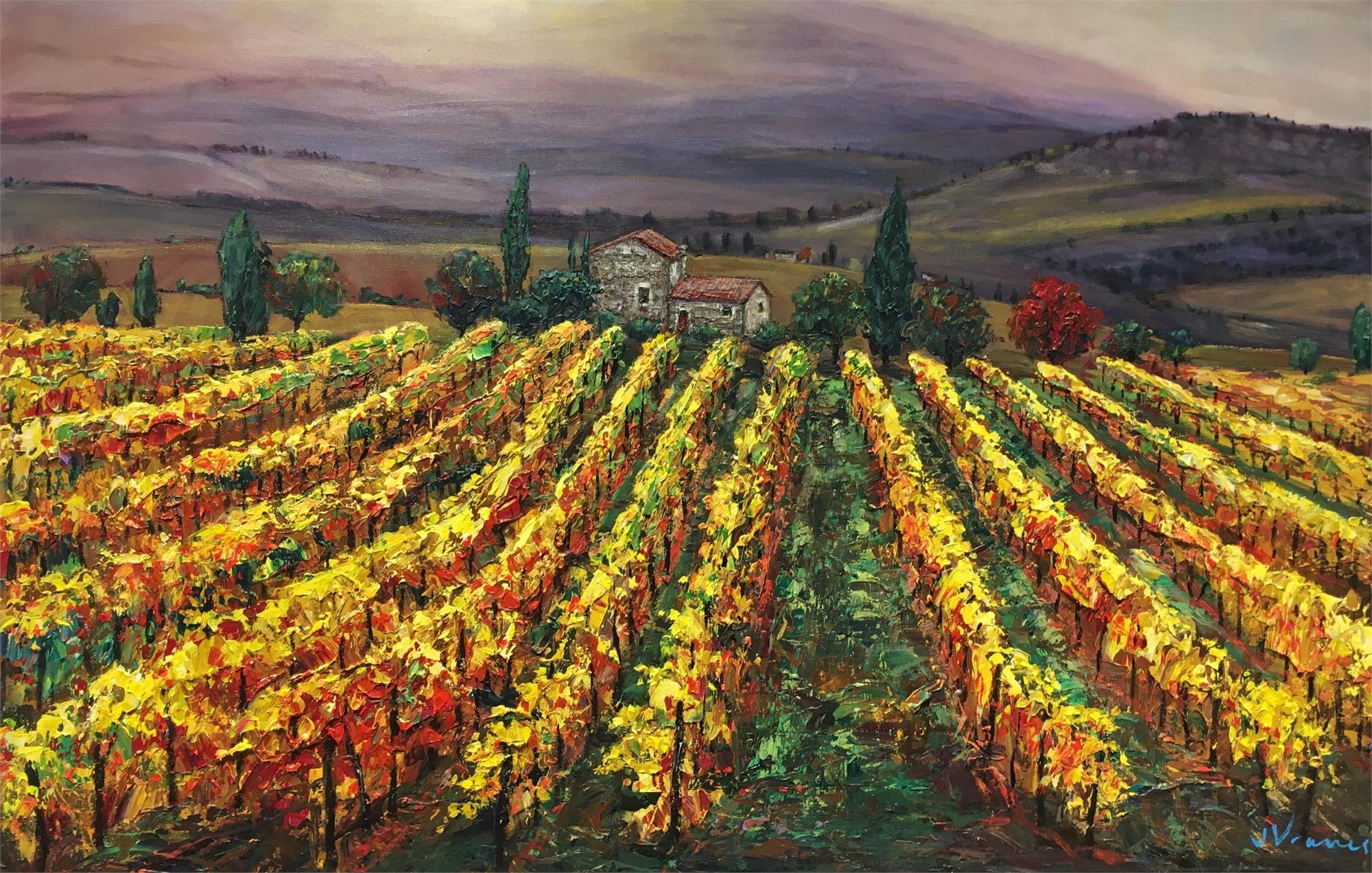 Tuscan Memories by Jennifer Vranes