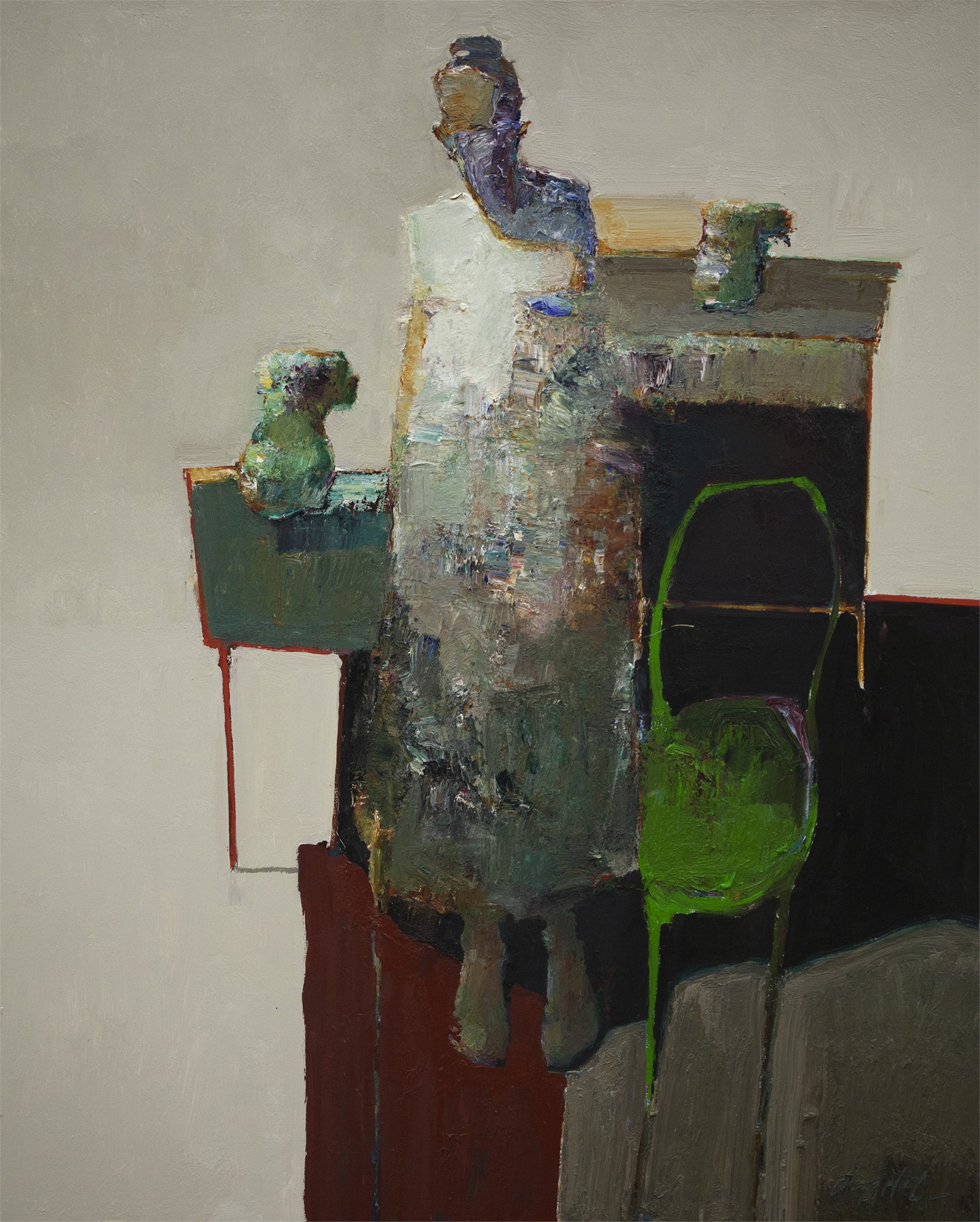 Green Chair by Danny McCaw
