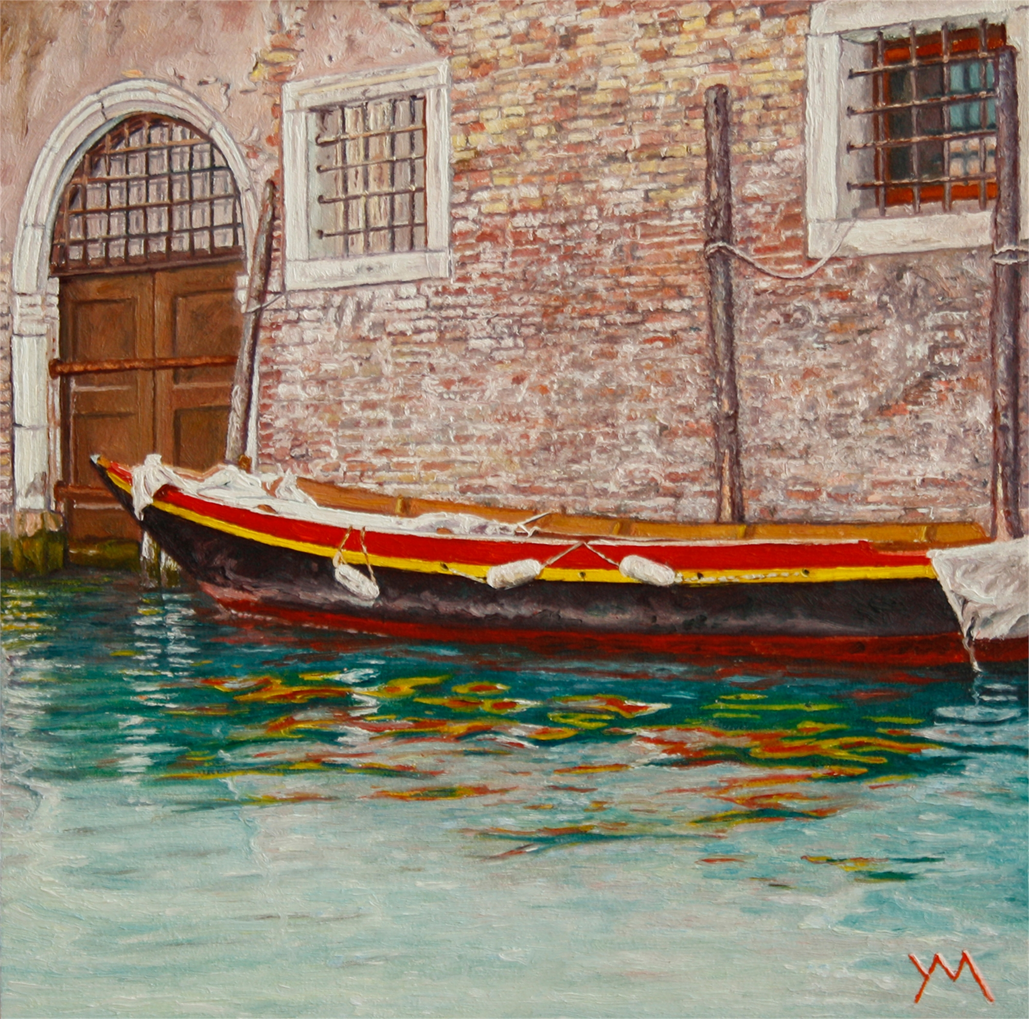 Reflections IV (Summer in Venice) by Yvonne Melchers