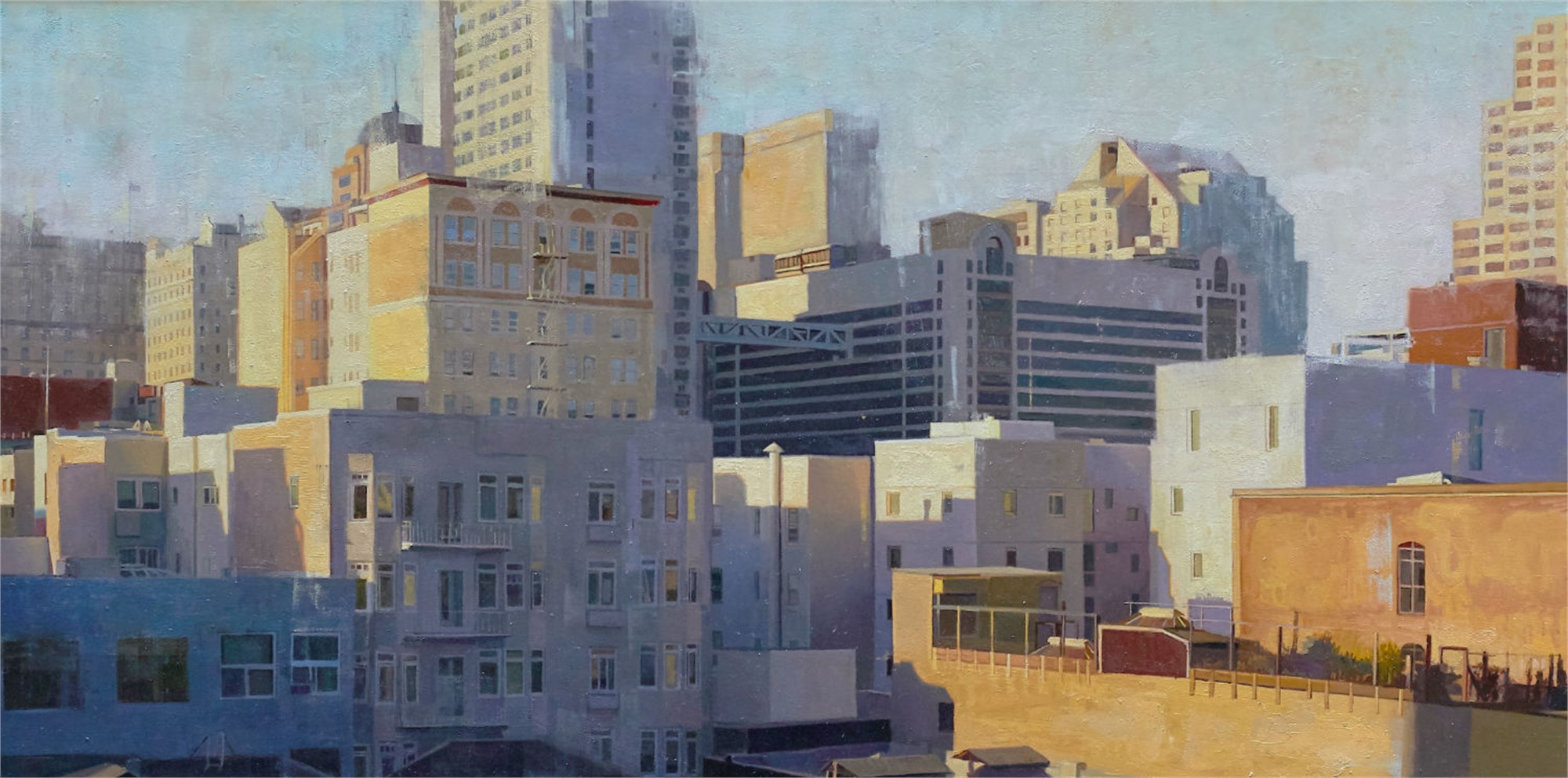 Tenderloin Rooftops by Greg Gandy
