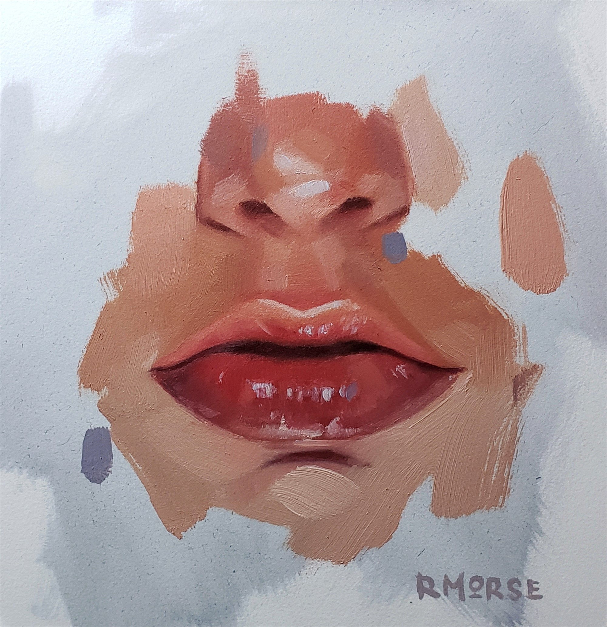 Lips 1 by Ryan Morse