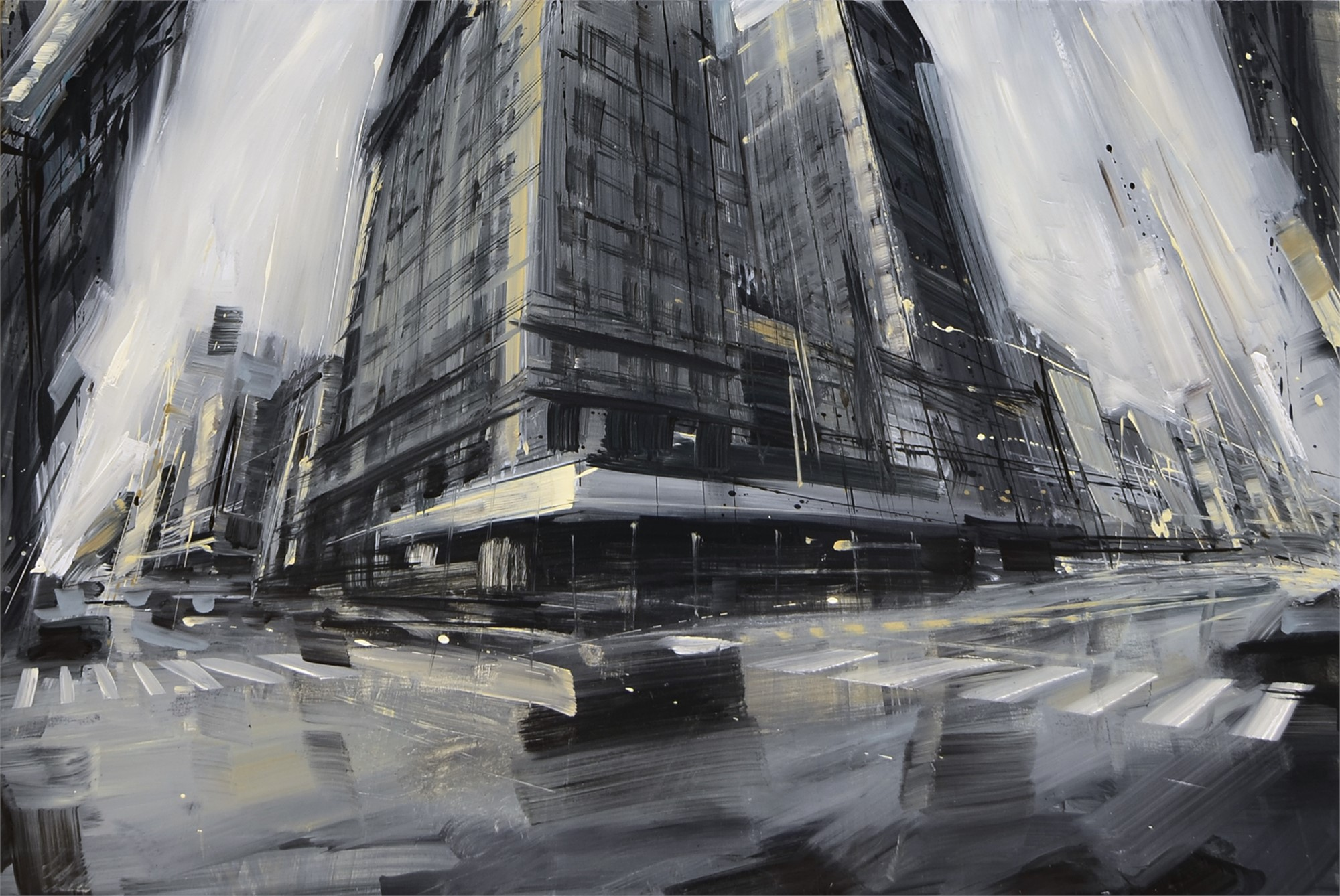 Broadway and W. 25th by Valerio D'Ospina