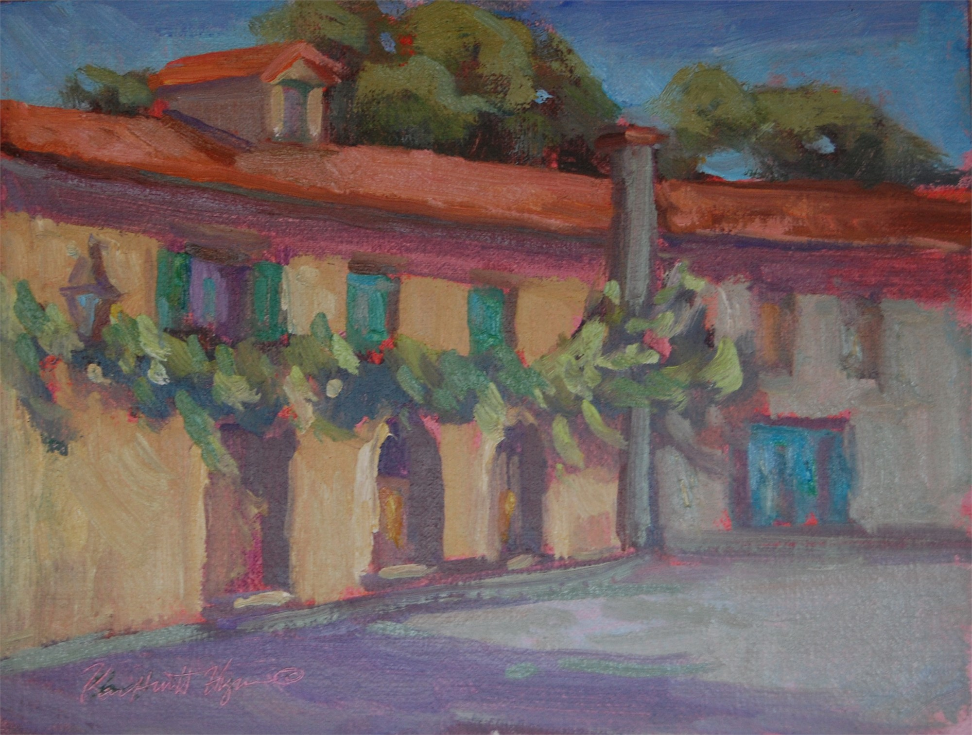Tuscan Village by Karen Hewitt Hagan