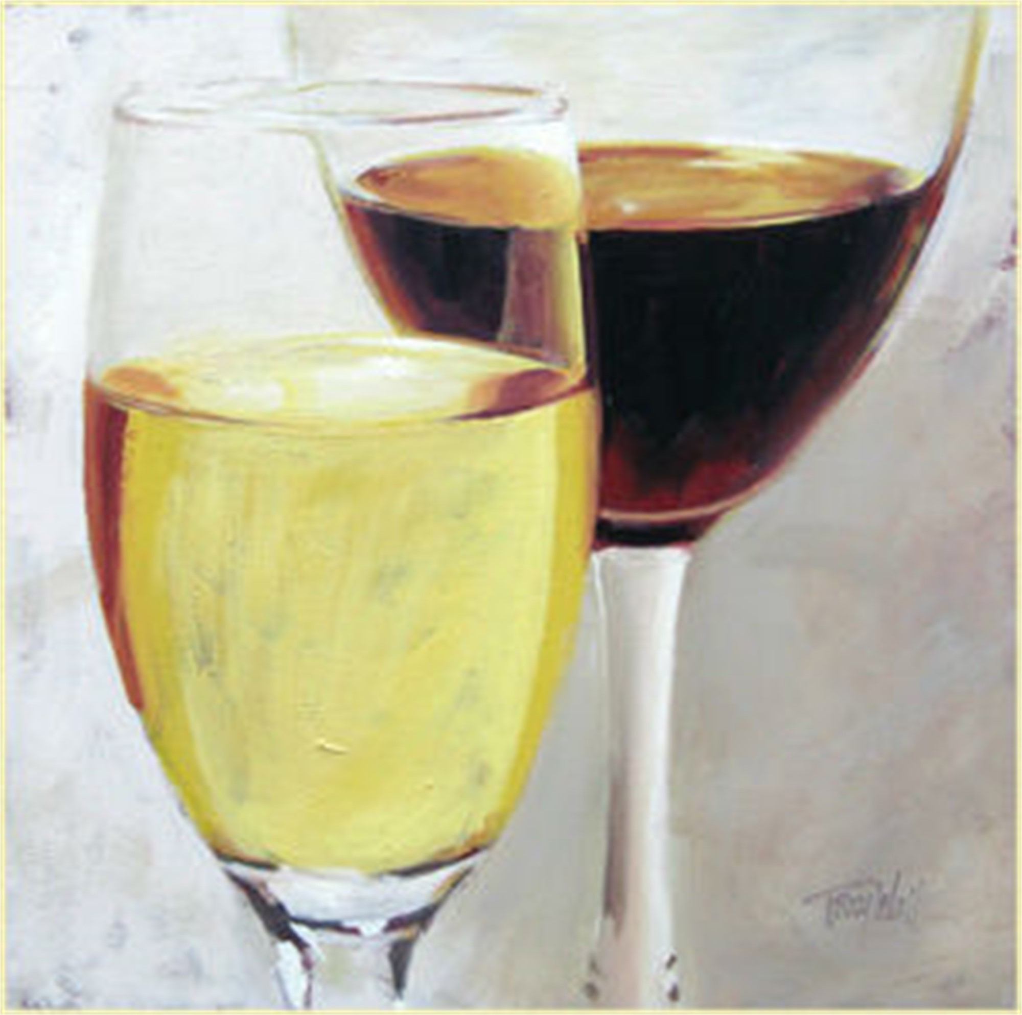 Pinot Grigio and Cab by Tracy Wall