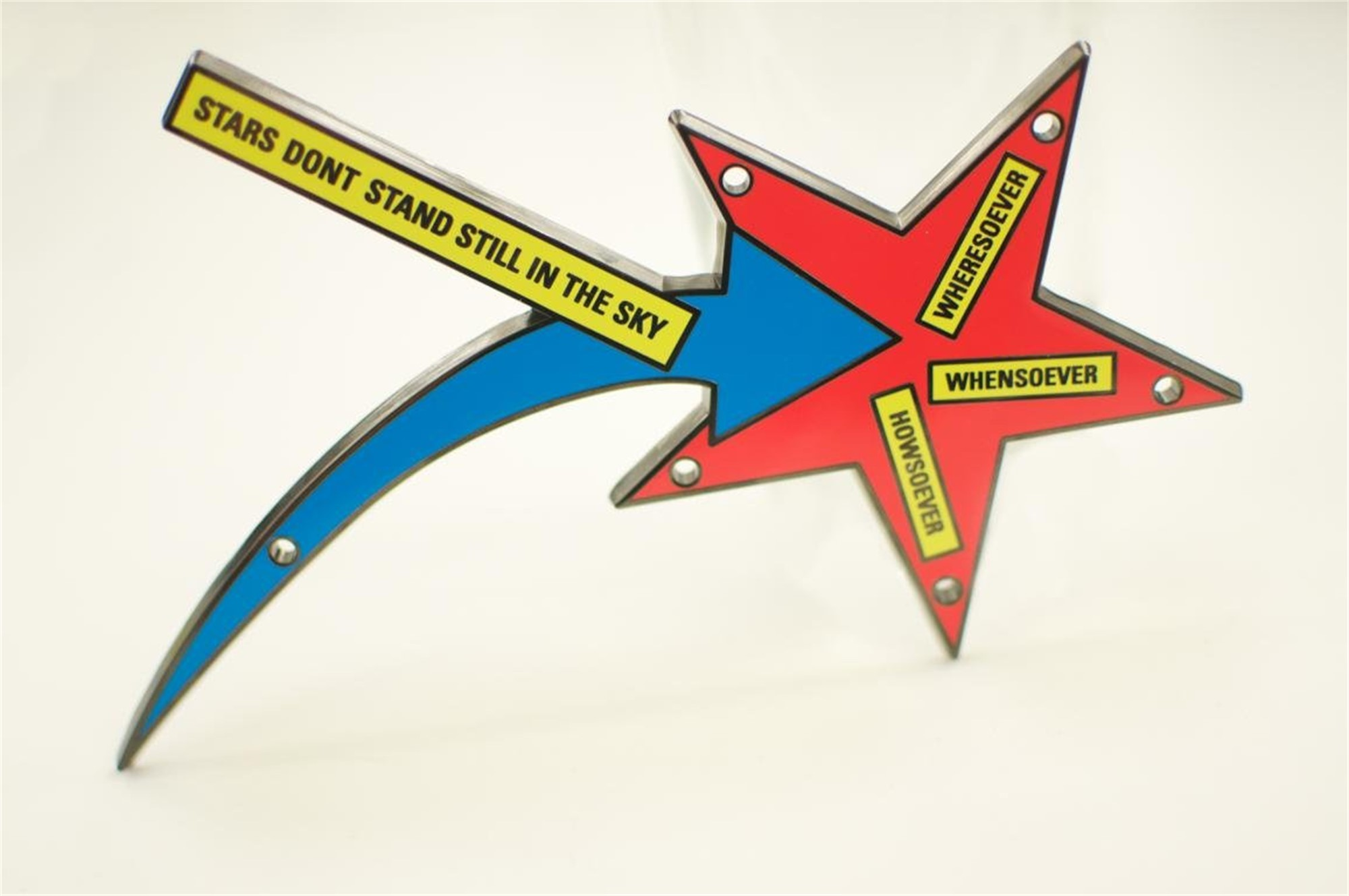Stars Don't Stand Still in the Sky by Lawrence Weiner