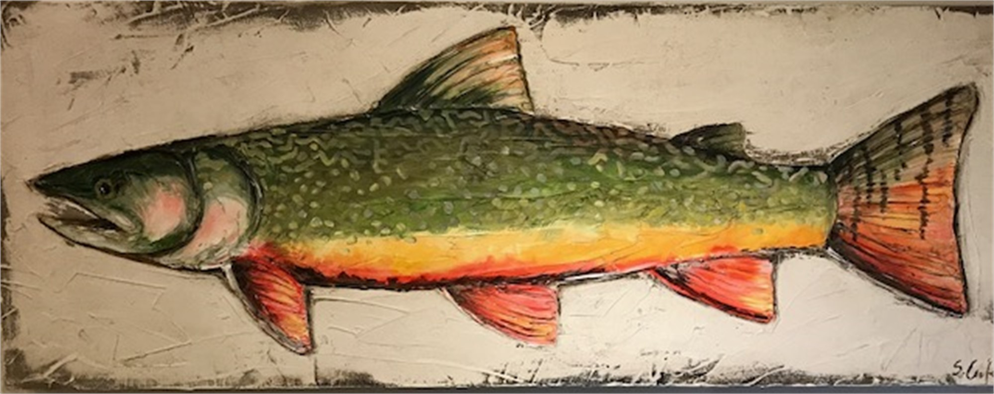 Brook Trout by Sherry Cook