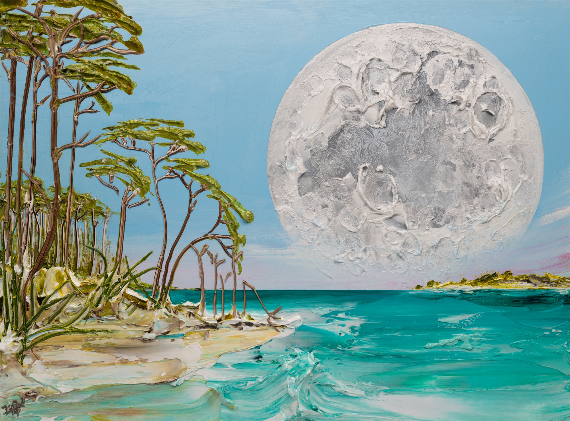 MOONSCAPE MS-40x30-2019-306 by JUSTIN GAFFREY