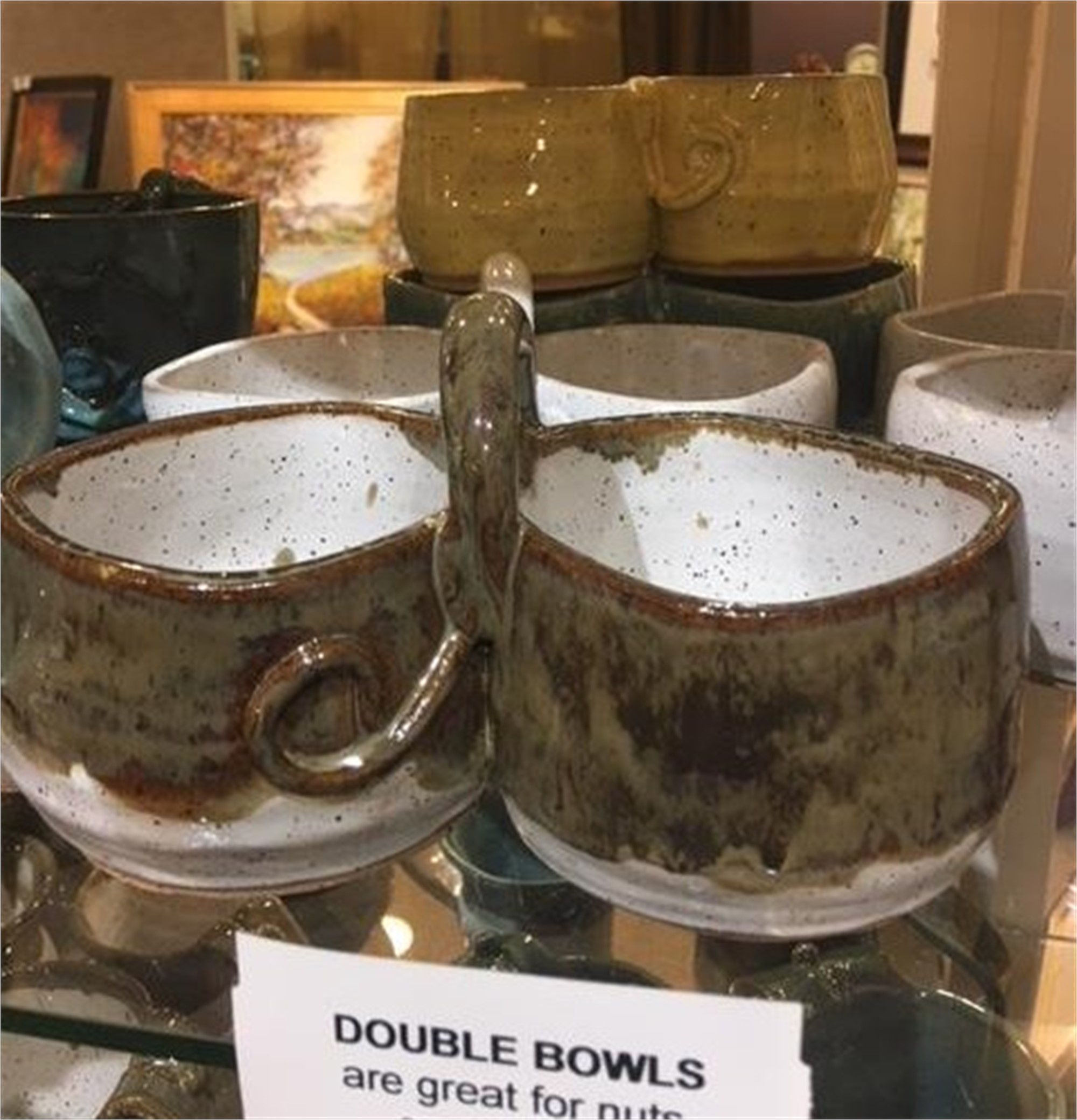 Double Dip Bowls by Lavon Strickland